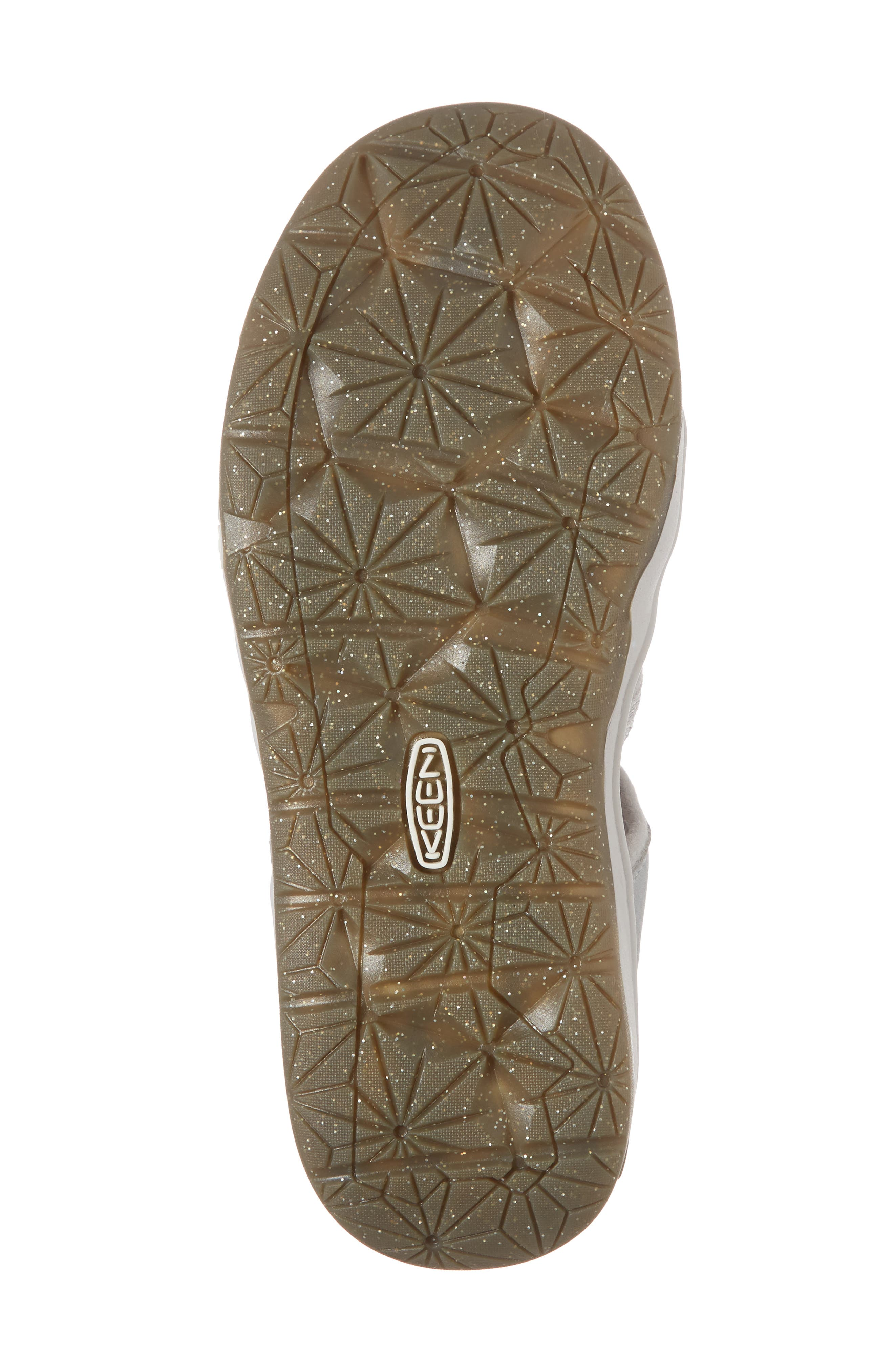 KEEN, Moxie Water Friendly Sandal, Alternate thumbnail 6, color, SILVER