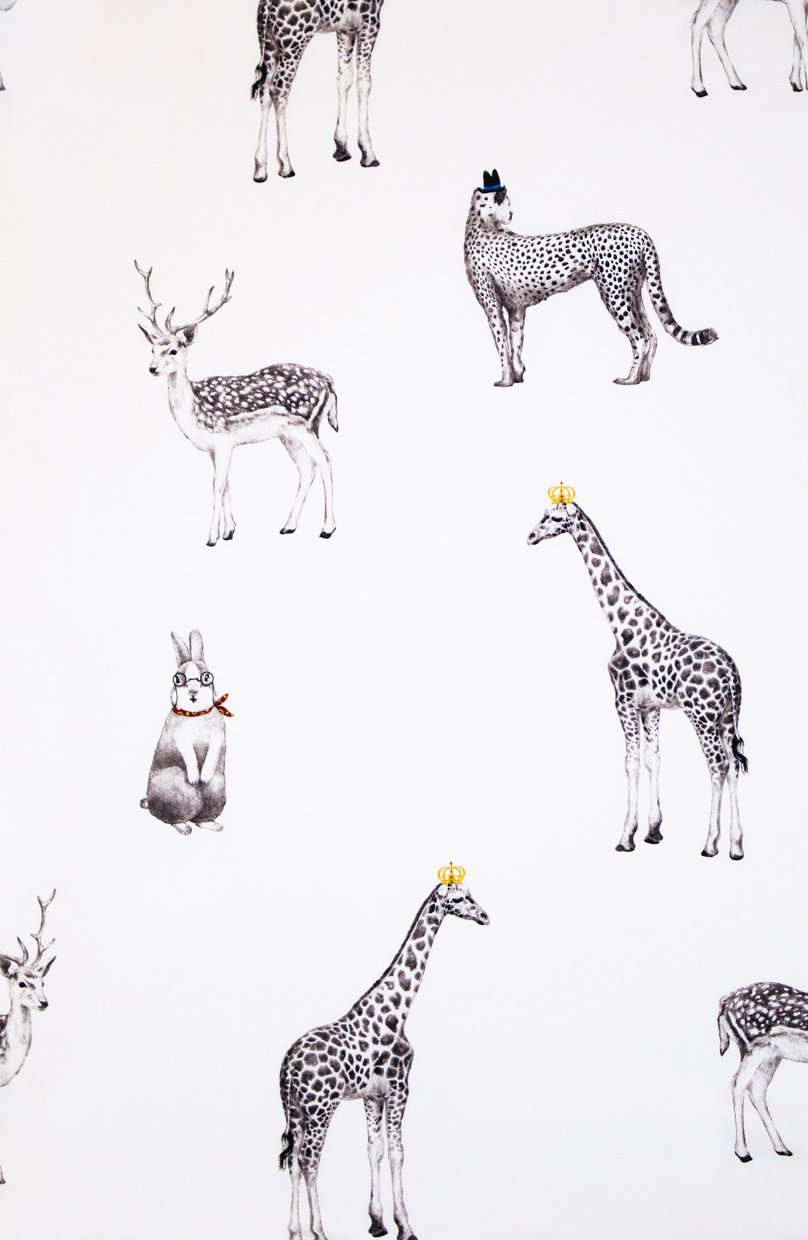 DONO & DONO, Classic All Seasons Blanket, Alternate thumbnail 2, color, RETRO ANIMAL
