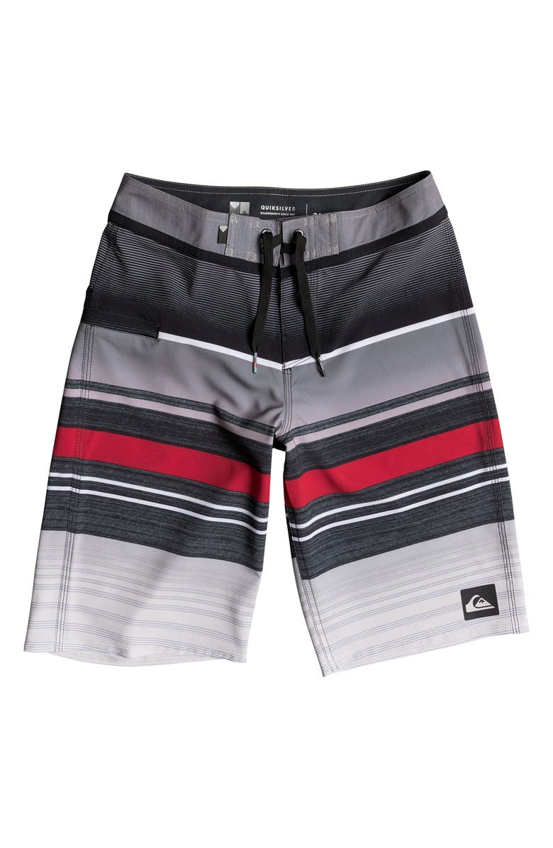 e5cb4d1fbb Quiksilver Everyday Stripe Vee Board Shorts (Big Boys) | Nordstrom