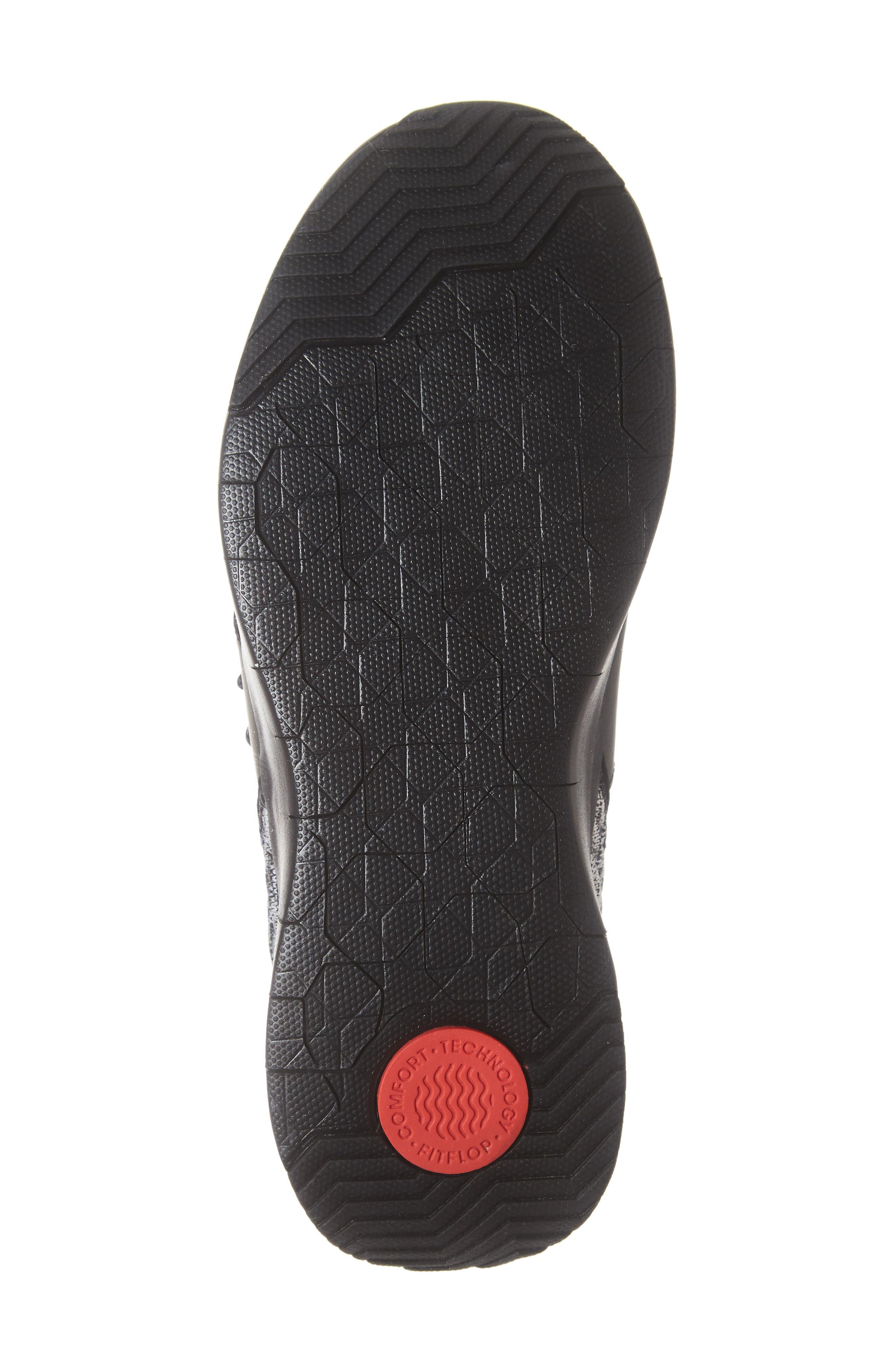 FITFLOP, Artknit Sock Sneaker, Alternate thumbnail 6, color, 017