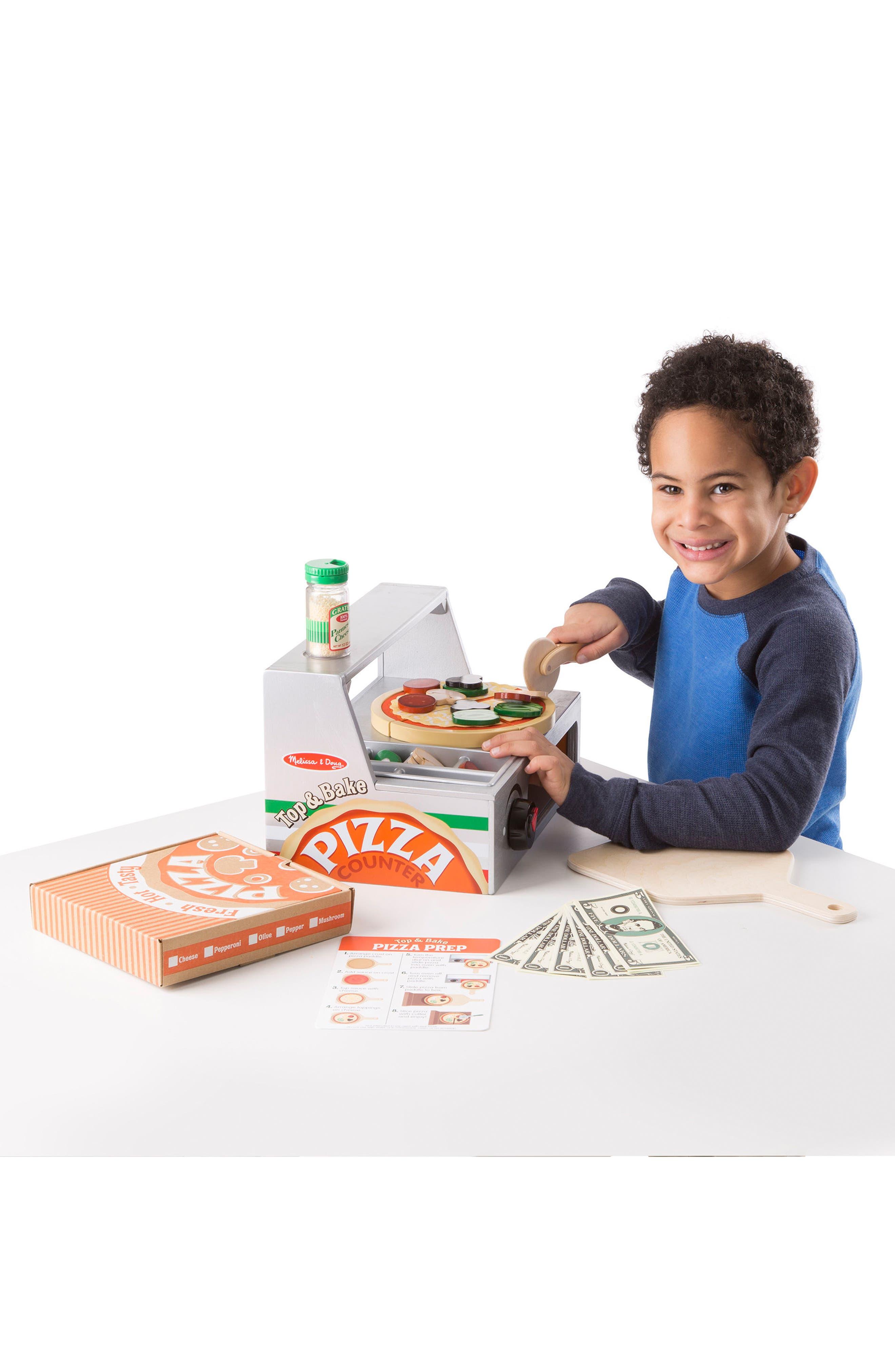 MELISSA & DOUG, Pizza Counter, Alternate thumbnail 3, color, MULTI