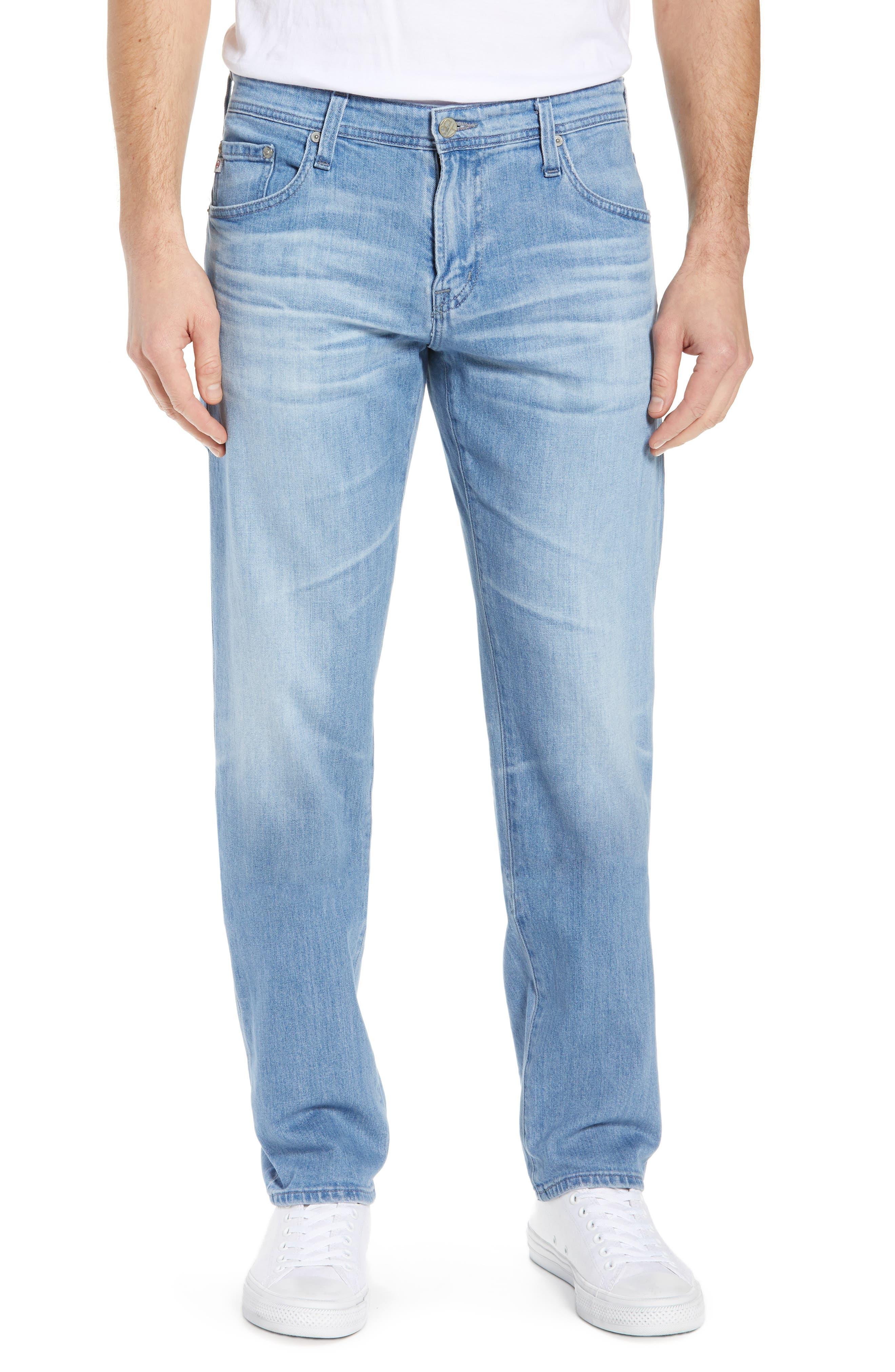 AG Tellis Slim Fit Jeans, Main, color, 17 YEARS PHASE
