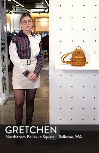 'X-Mini Stark Side Stud' Convertible Backpack, sales video thumbnail