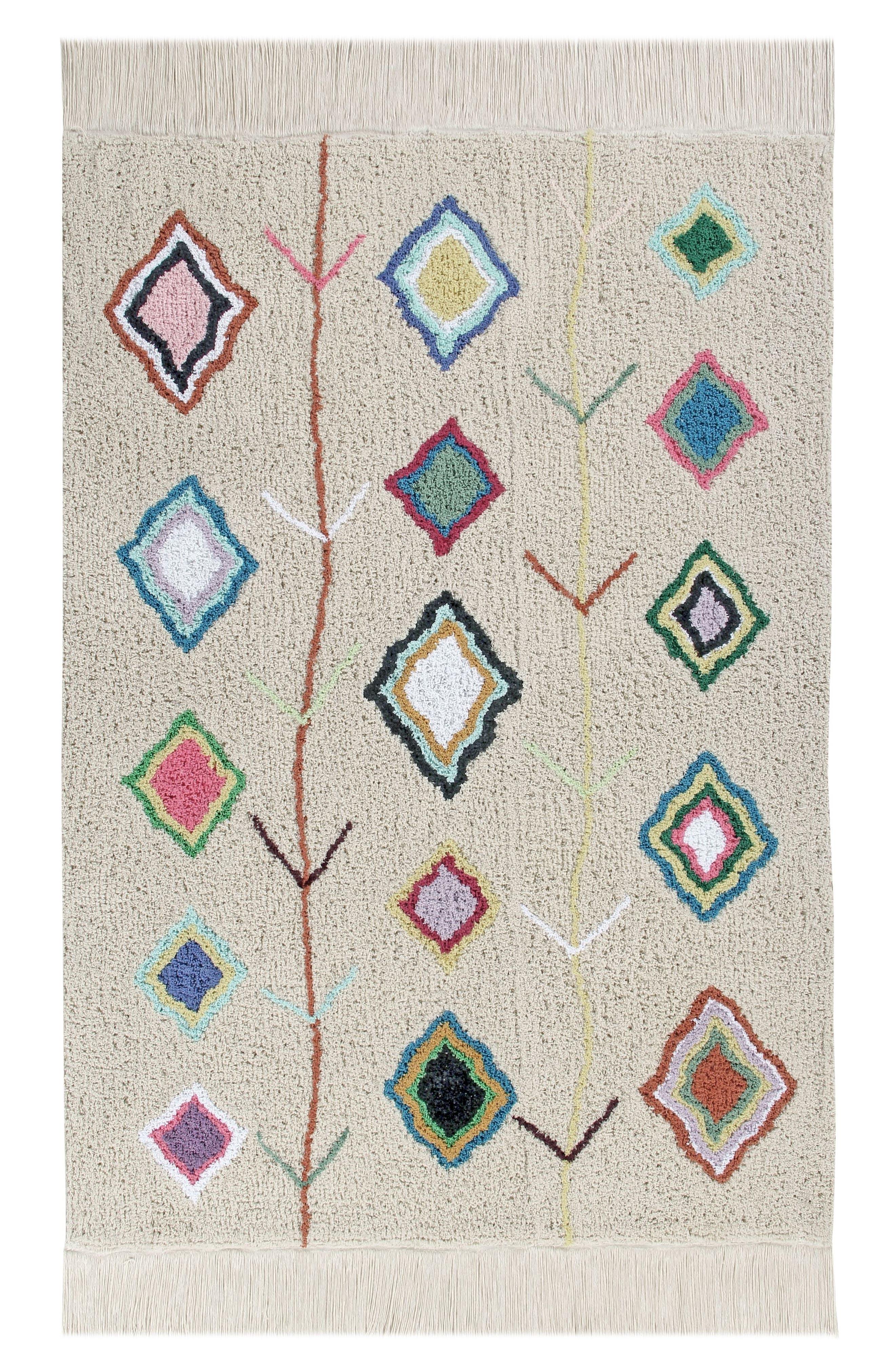 LORENA CANALS, Kaarol Rug, Main thumbnail 1, color, KAAROL