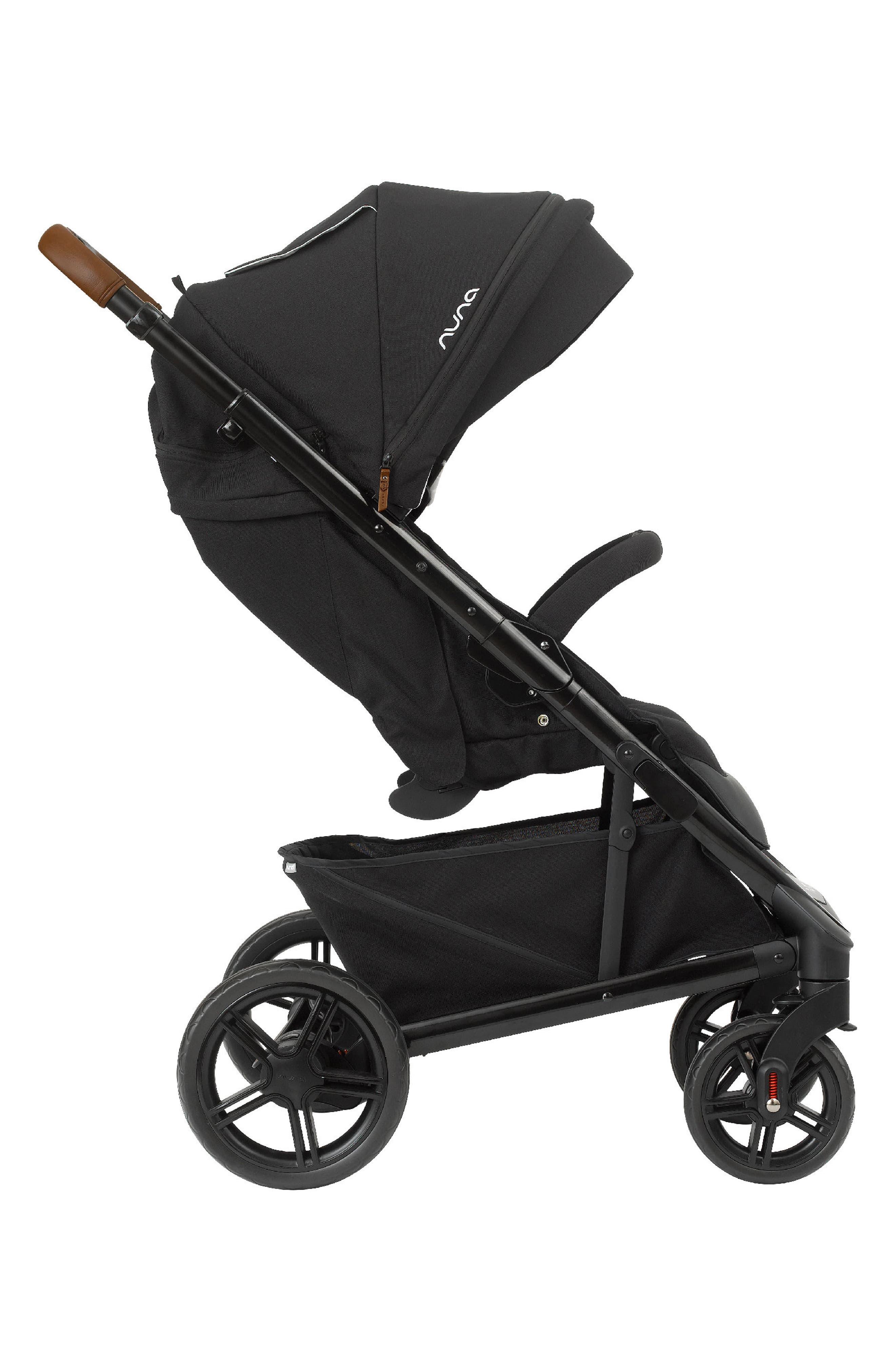 NUNA, 2019 TAVO<sup>™</sup> Stroller & PIPA<sup>™</sup> Lite LX Car Seat Travel System, Alternate thumbnail 5, color, CAVIAR
