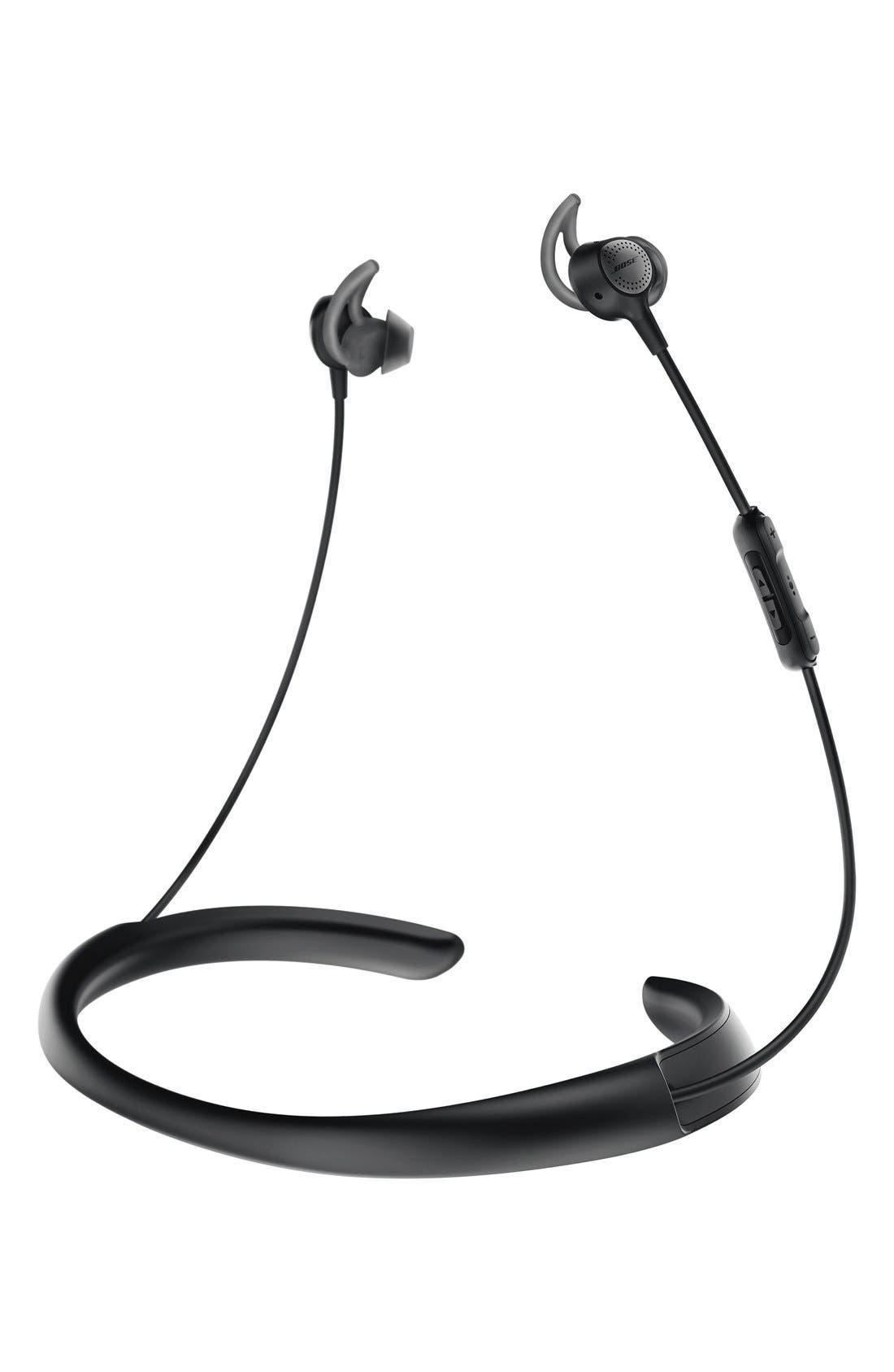 BOSE<SUP>®</SUP> QuietControl<sup>®</sup> 30 Wireless Headphones, Main, color, BLACK