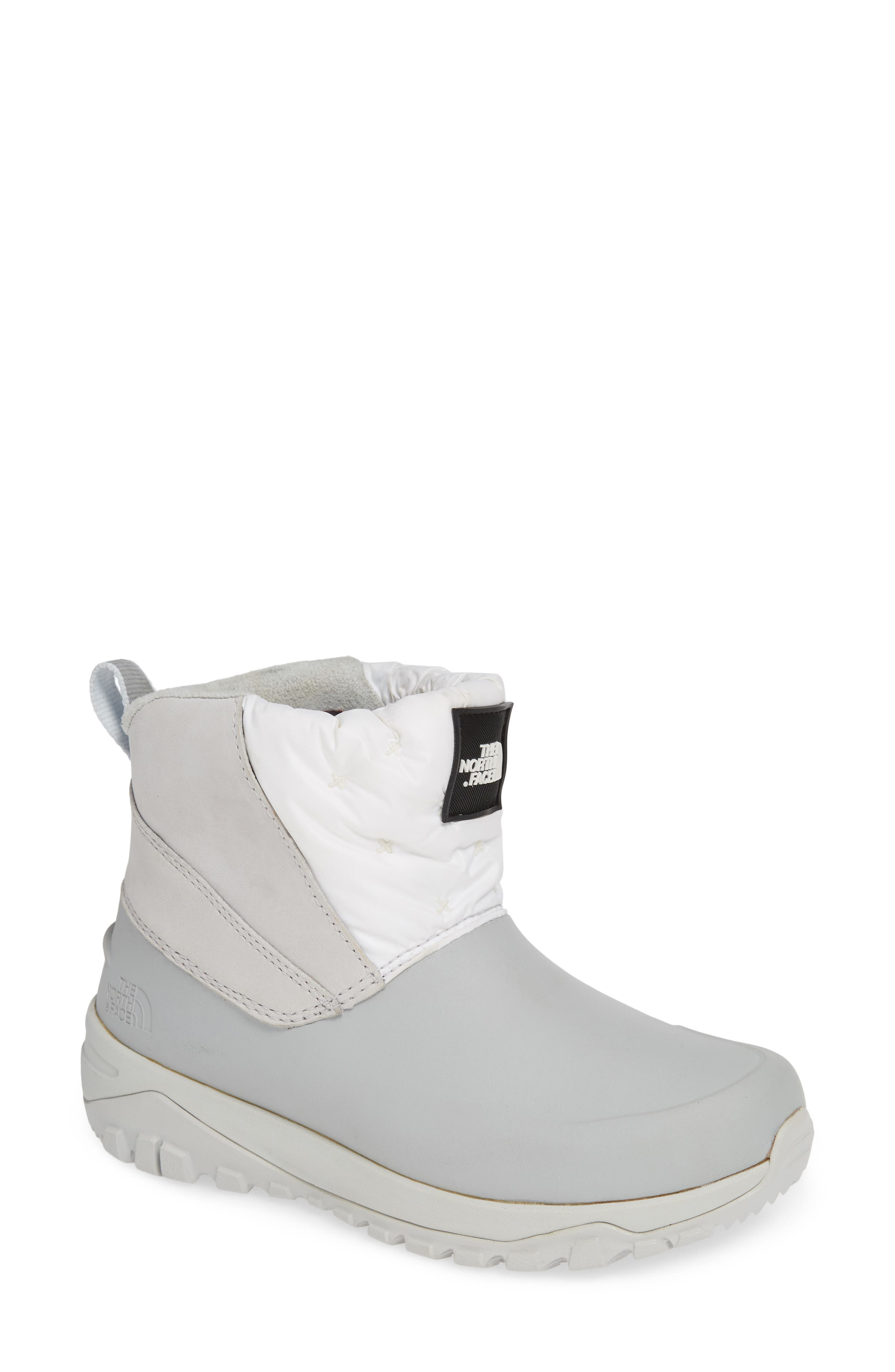 The North Face Yukiona Waterproof Ankle Boot- White