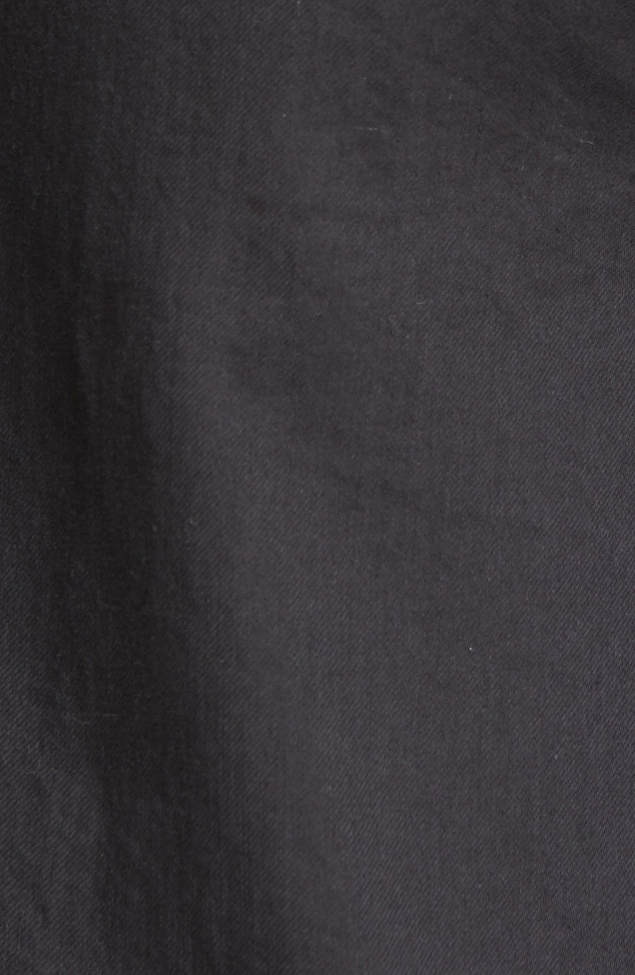 EILEEN FISHER, Organic Cotton Wide Leg Pants, Alternate thumbnail 6, color, GRAPHITE