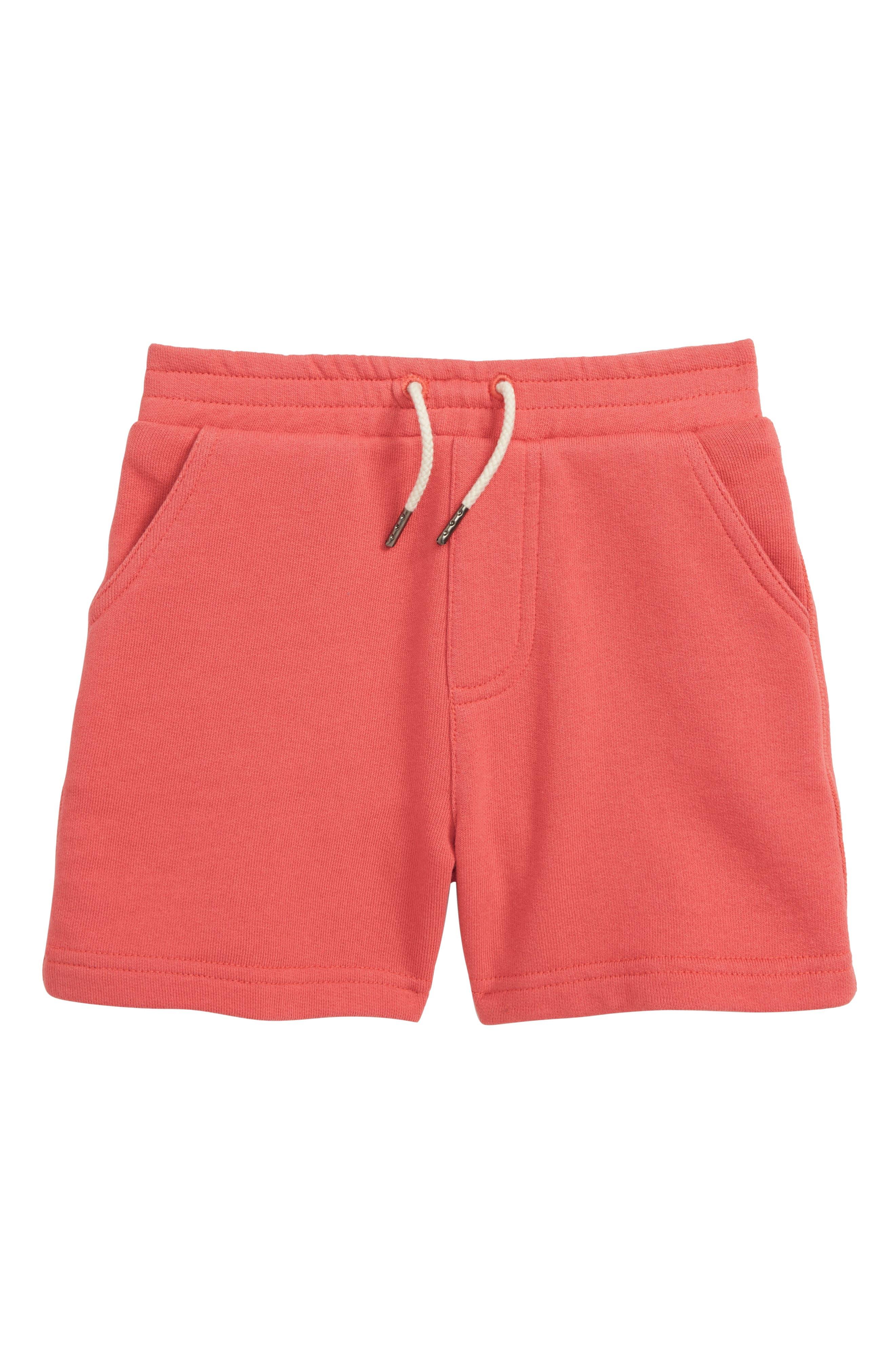 PEEK ESSENTIALS, Even Shorts, Main thumbnail 1, color, RED