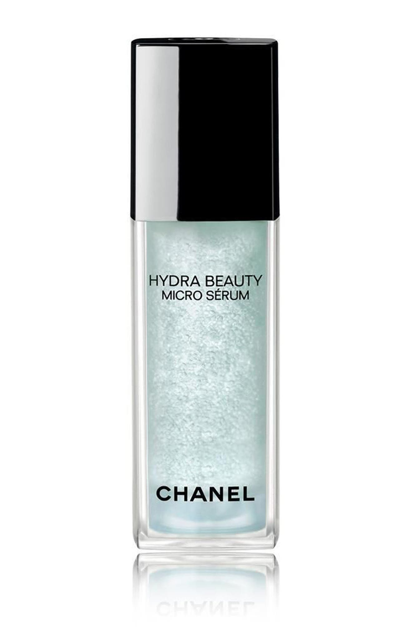 CHANEL HYDRA BEAUTY<br />Micro Sérum Intense Replenishing Hydration, Main, color, NO COLOR
