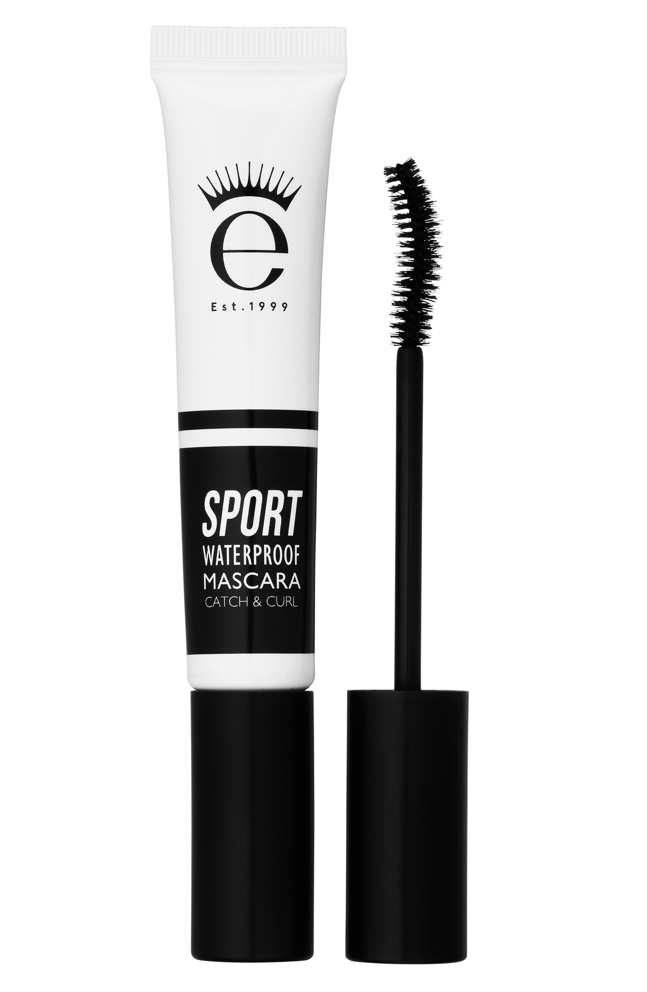 EYEKO, Sport Waterproof Mascara Catch & Curl, Main thumbnail 1, color, BLACK