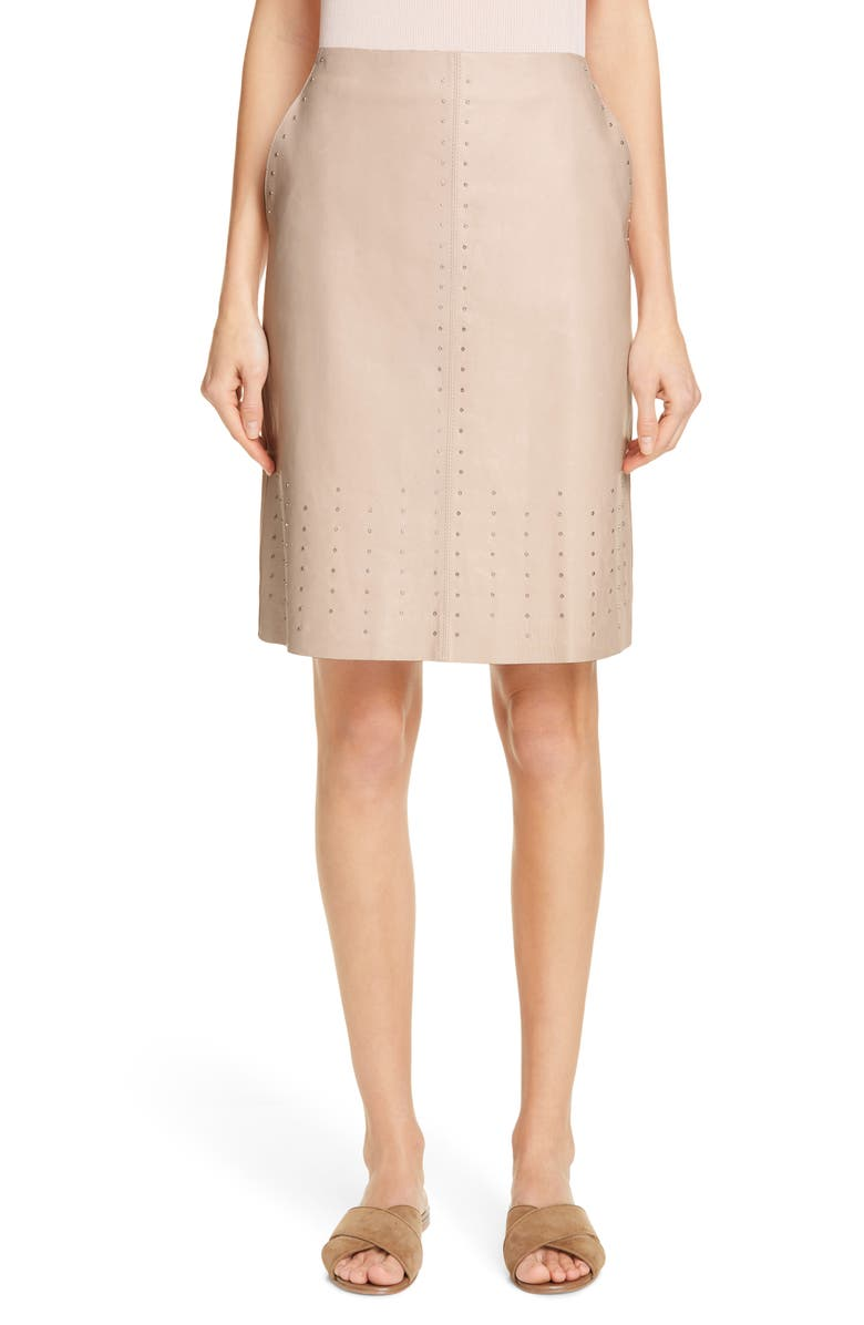 Lafayette 148 Skirts WHITLEY STUDDED SKIRT