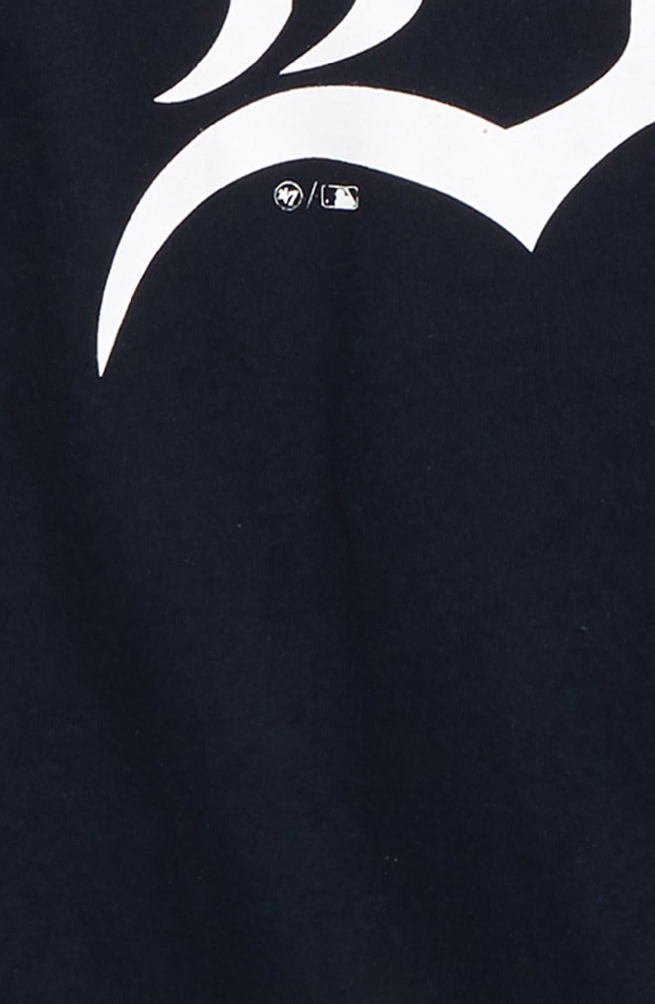 '47, Super Rival Detroit Tigers T-Shirt, Alternate thumbnail 2, color, FALL NAVY