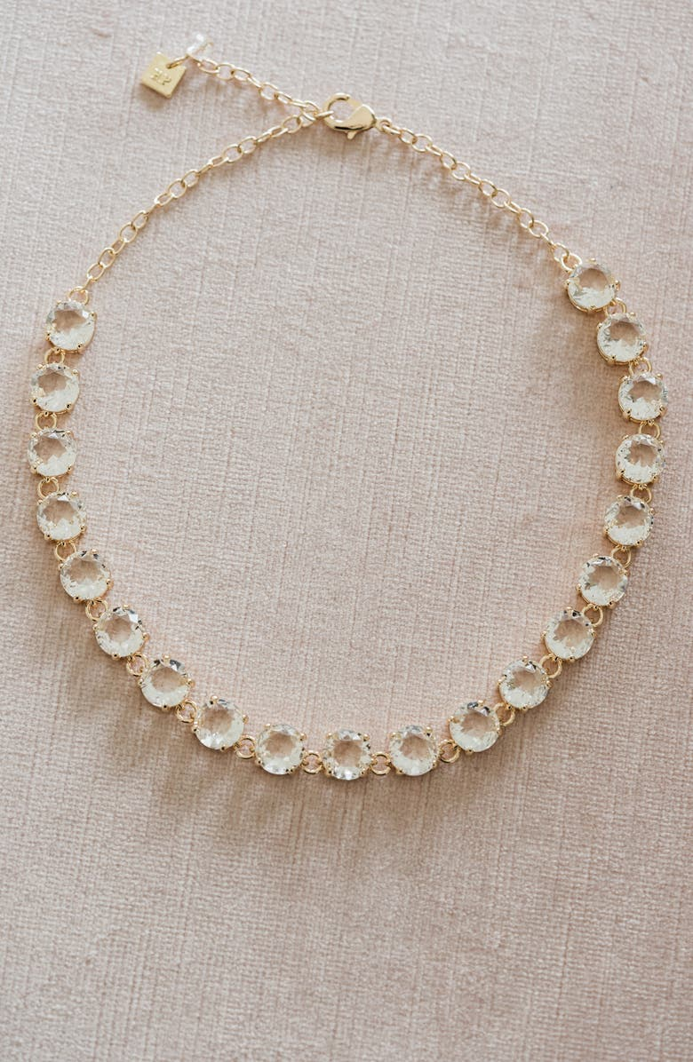 Rachel Parcell Crystal Collar Necklace (Nordstrom Exclusive) | Nordstrom