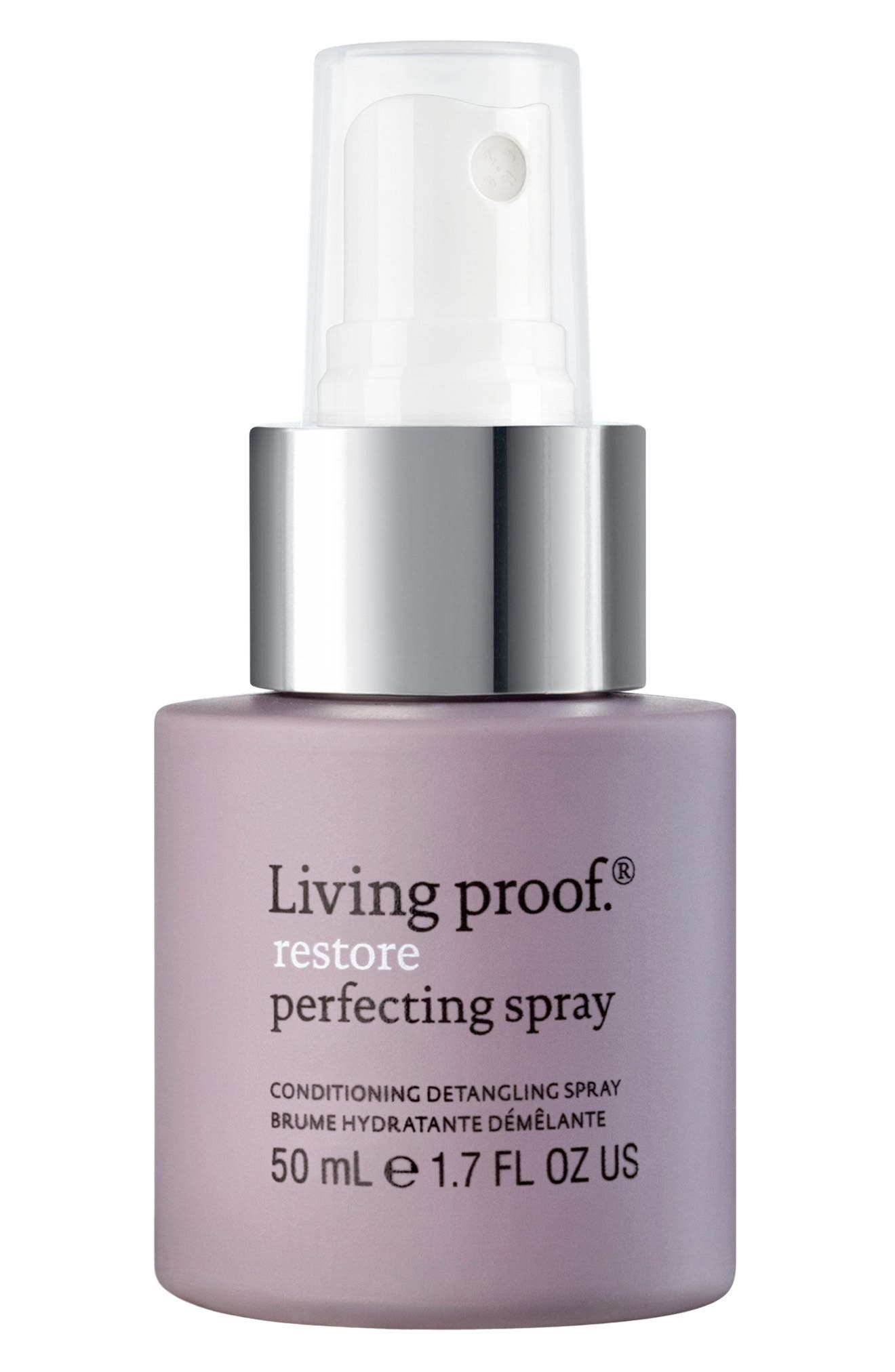 LIVING PROOF<SUP>®</SUP>, Restore Perfecting Spray, Alternate thumbnail 4, color, NO COLOR