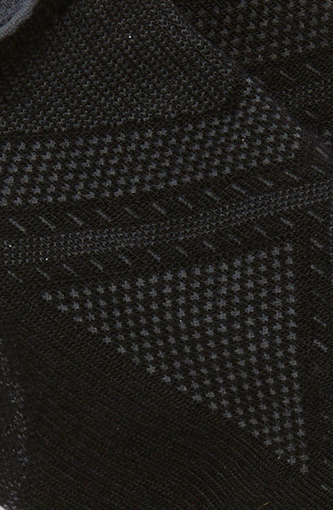 SMARTWOOL, 'PhD Run Light Elite Micro' Socks, Alternate thumbnail 2, color, BLACK