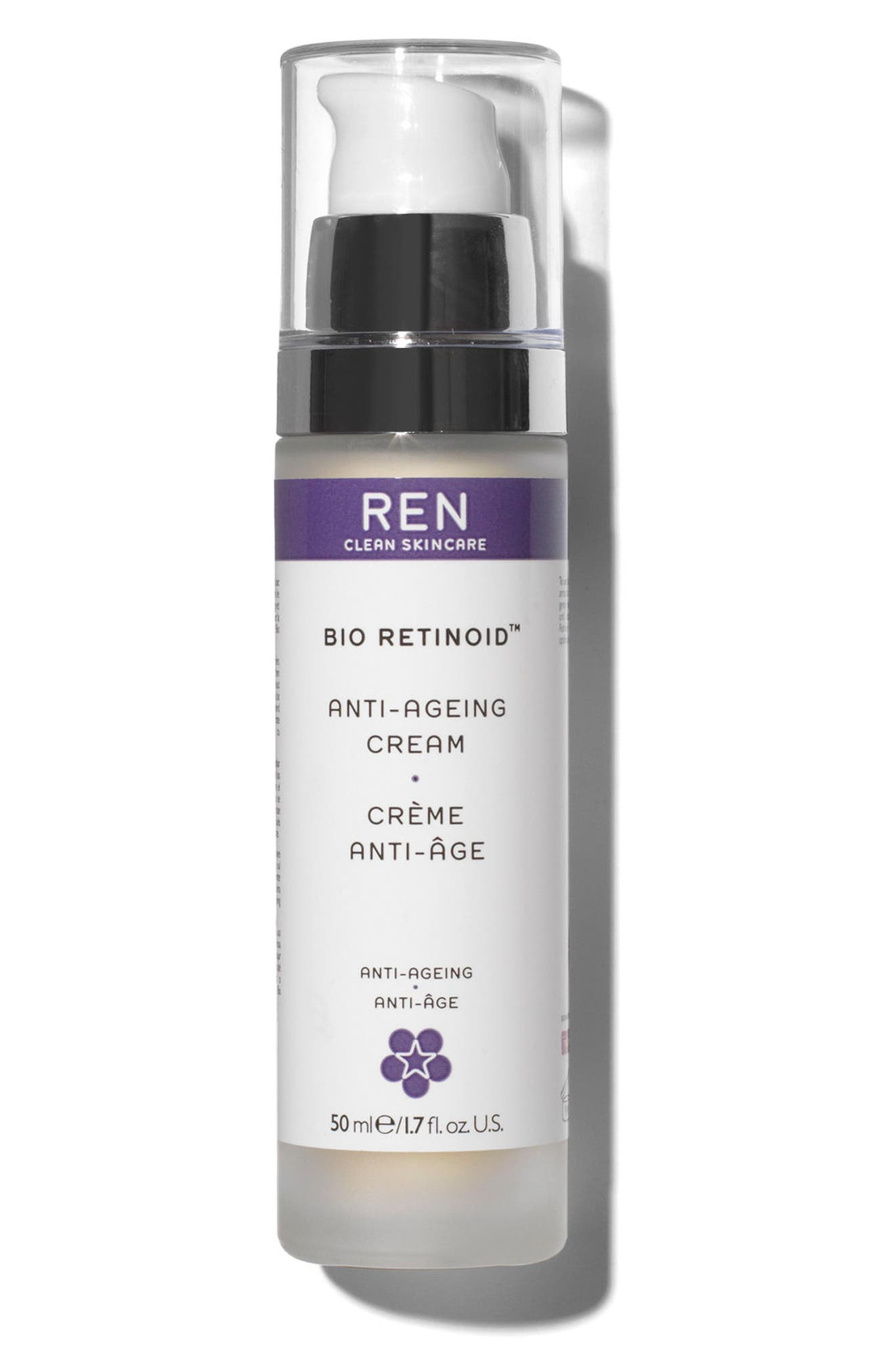 REN, SPACE.NK.apothecary REN Bio Retinoid Anti-Aging Cream, Main thumbnail 1, color, NO COLOR