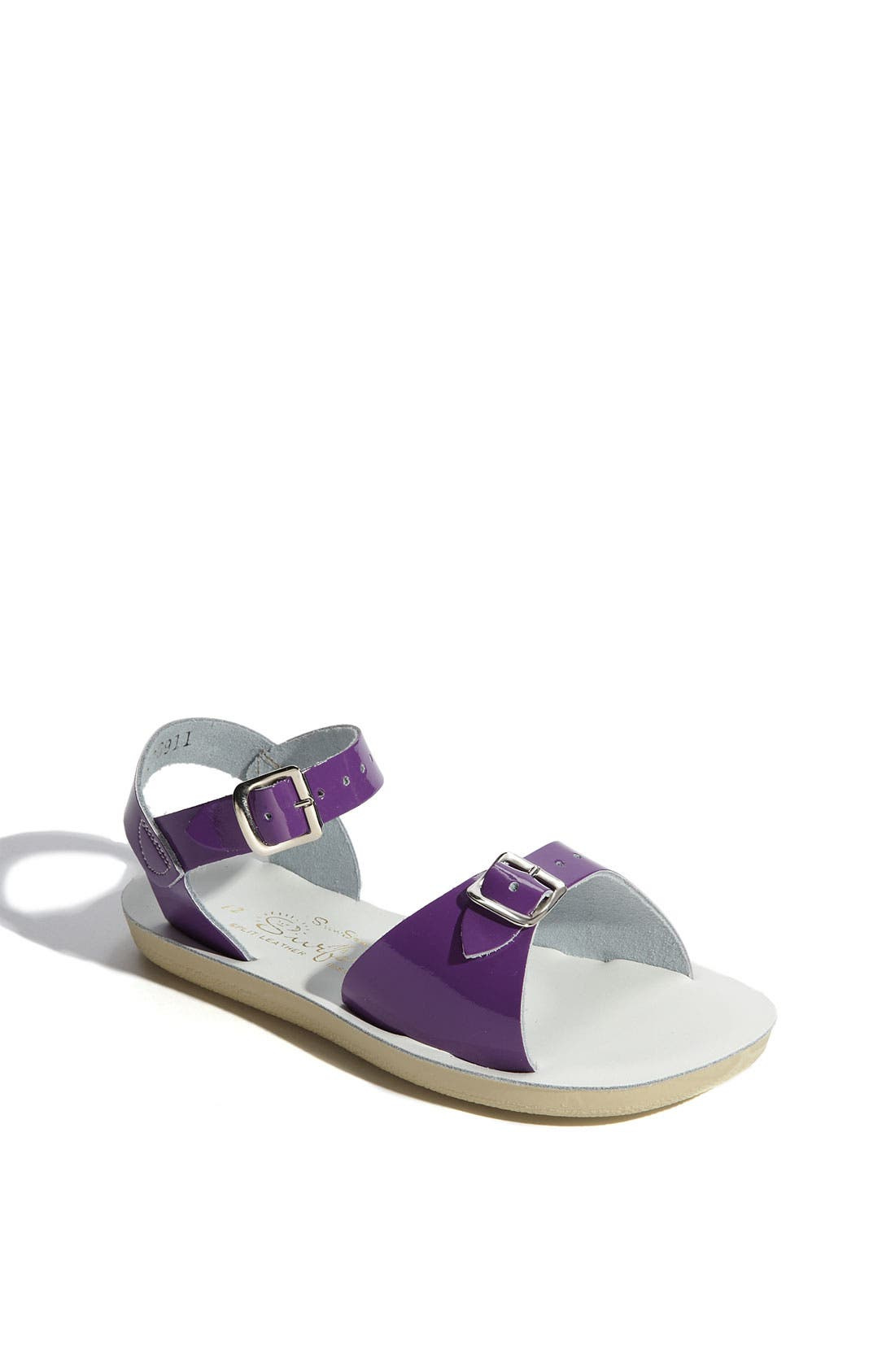 SALT WATER SANDALS BY HOY Surfer Water Friendly Sandal, Main, color, SHINY PURPLE