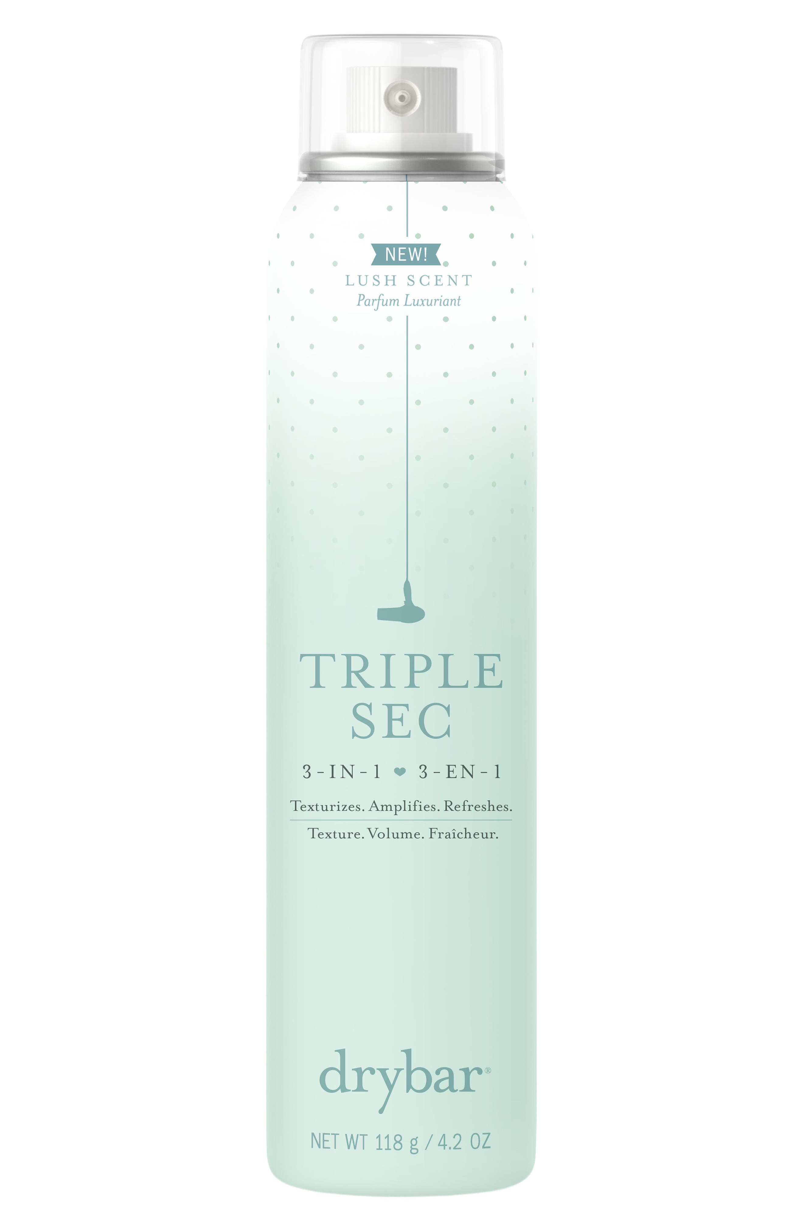 DRYBAR Triple Sec Scented 3-in-1 Texture Mist, Main, color, NO COLOR