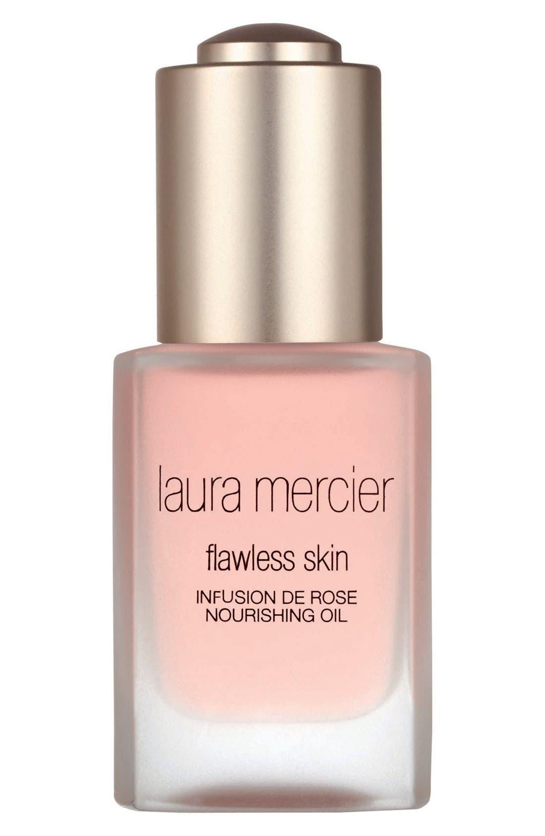 LAURA MERCIER, 'Flawless Skin' Infusion de Rose Nourishing Oil, Main thumbnail 1, color, NO COLOR