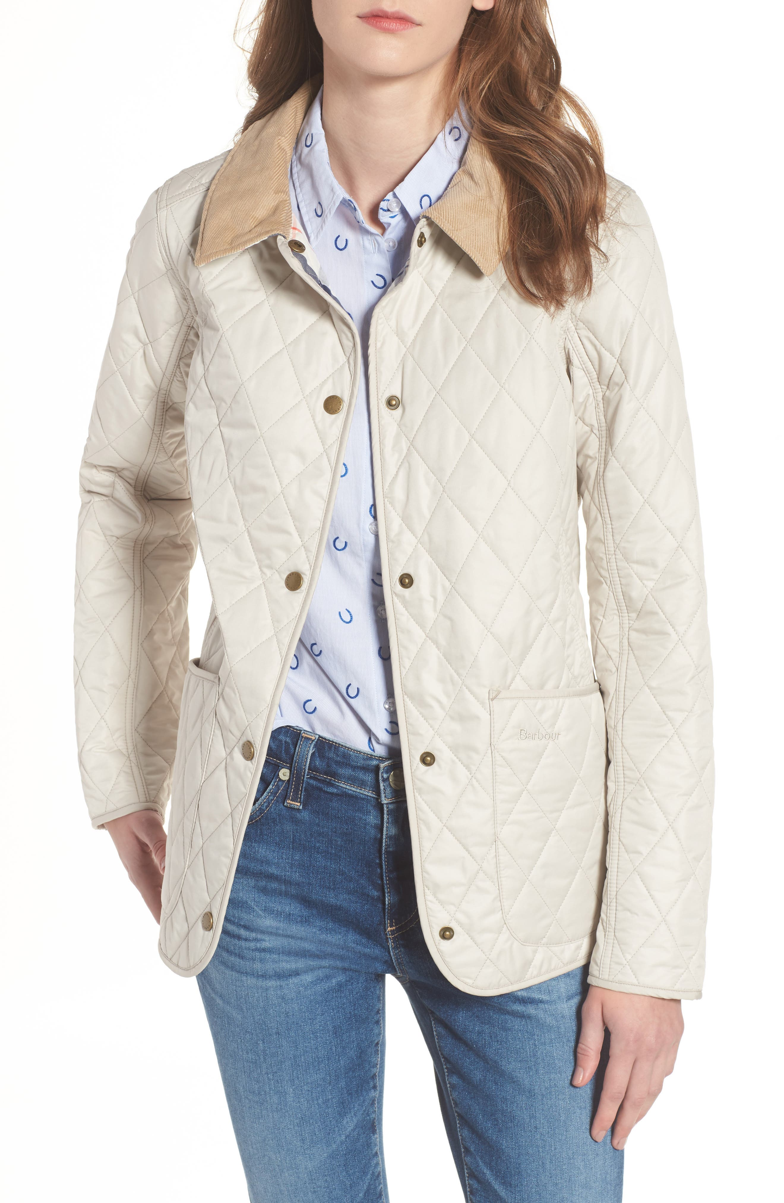 BARBOUR, Spring Annandale Quilted Jacket, Main thumbnail 1, color, 270