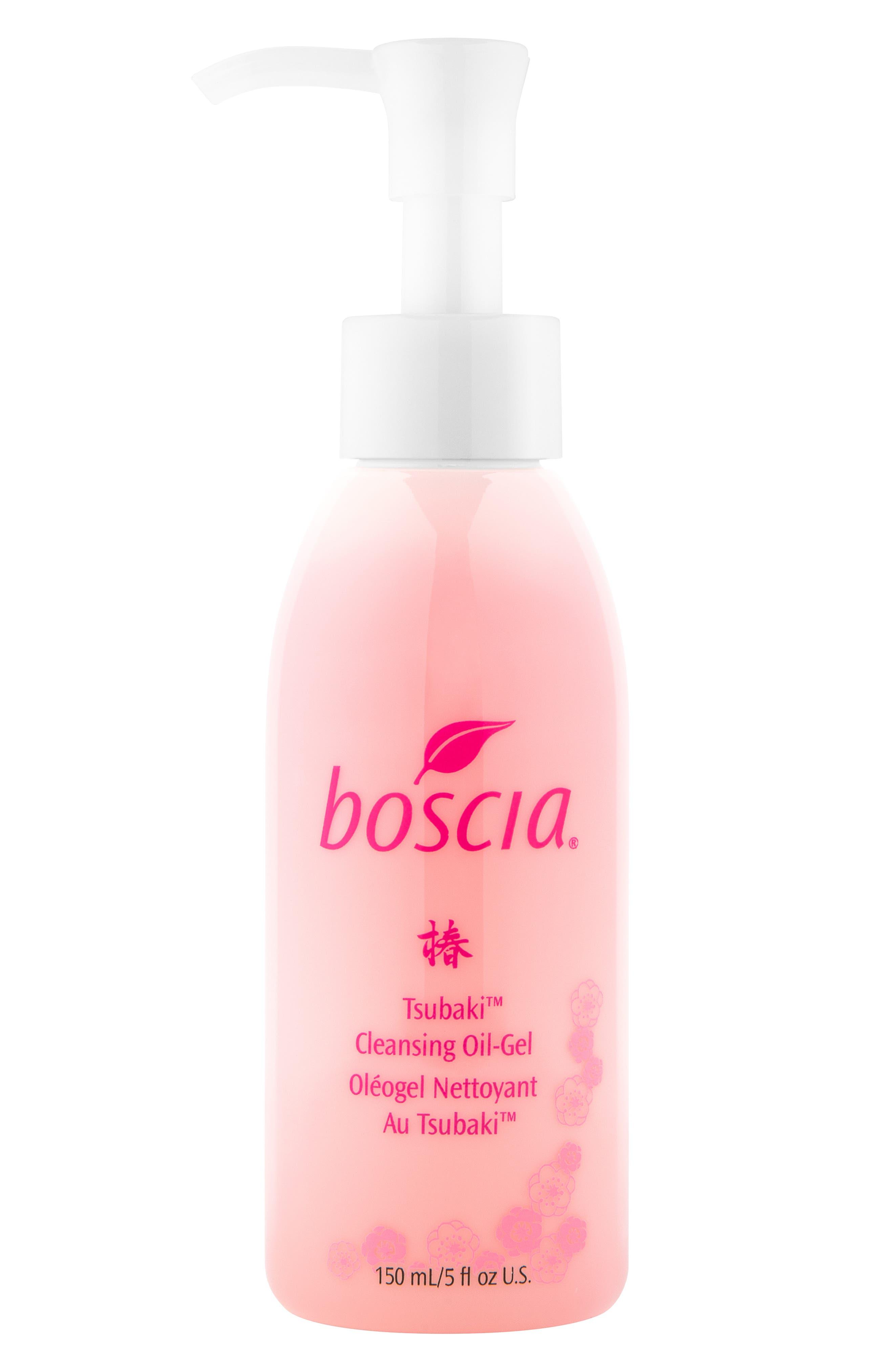 BOSCIA, Tsubaki Cleansing Oil-Gel, Main thumbnail 1, color, NO COLOR