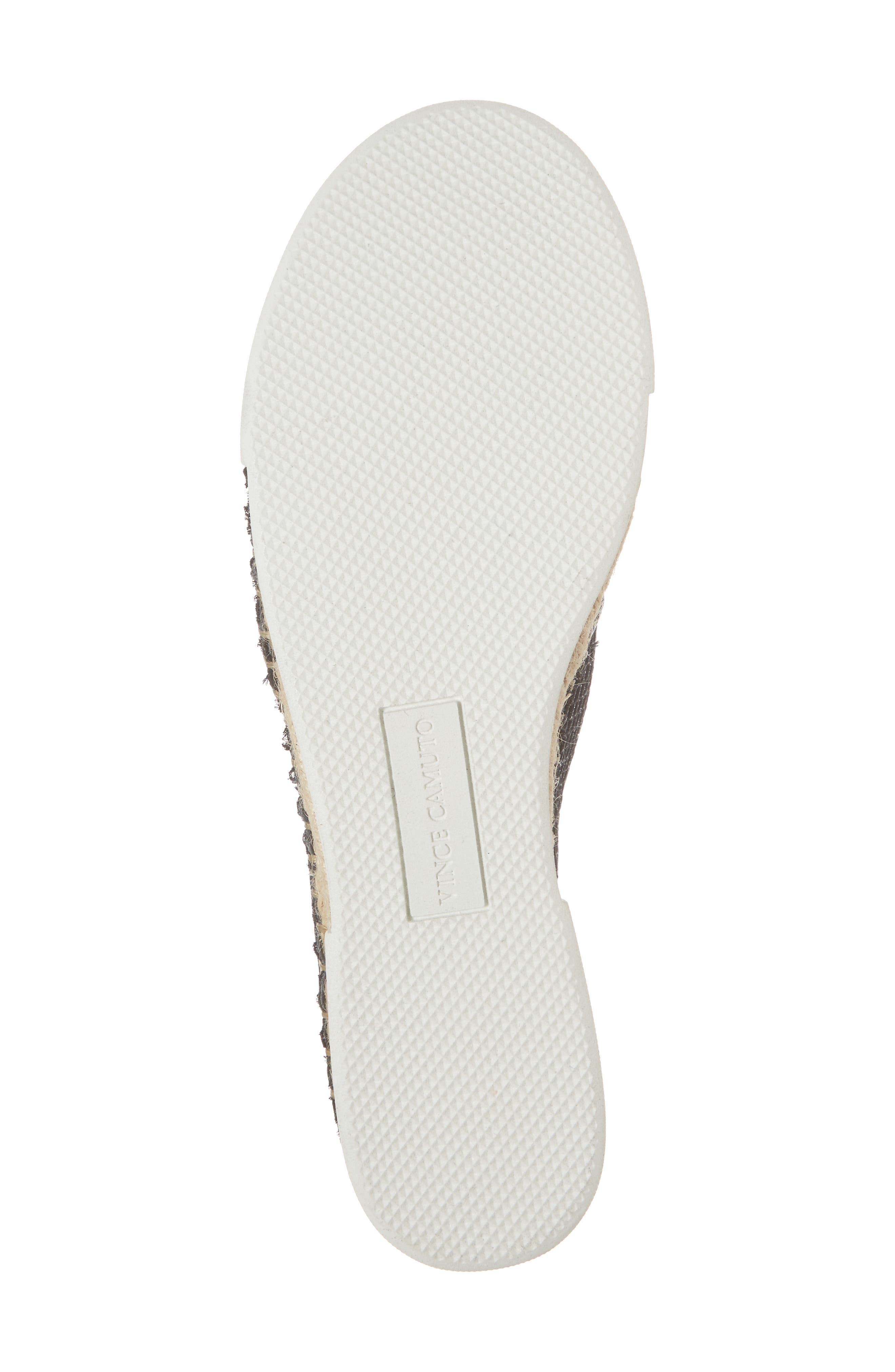 VINCE CAMUTO, Tambie Slip-On Sneaker, Alternate thumbnail 6, color, 001
