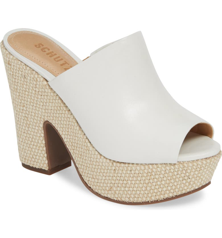 876a08ecf Schutz Dandara Platform Slide Sandal (Women)