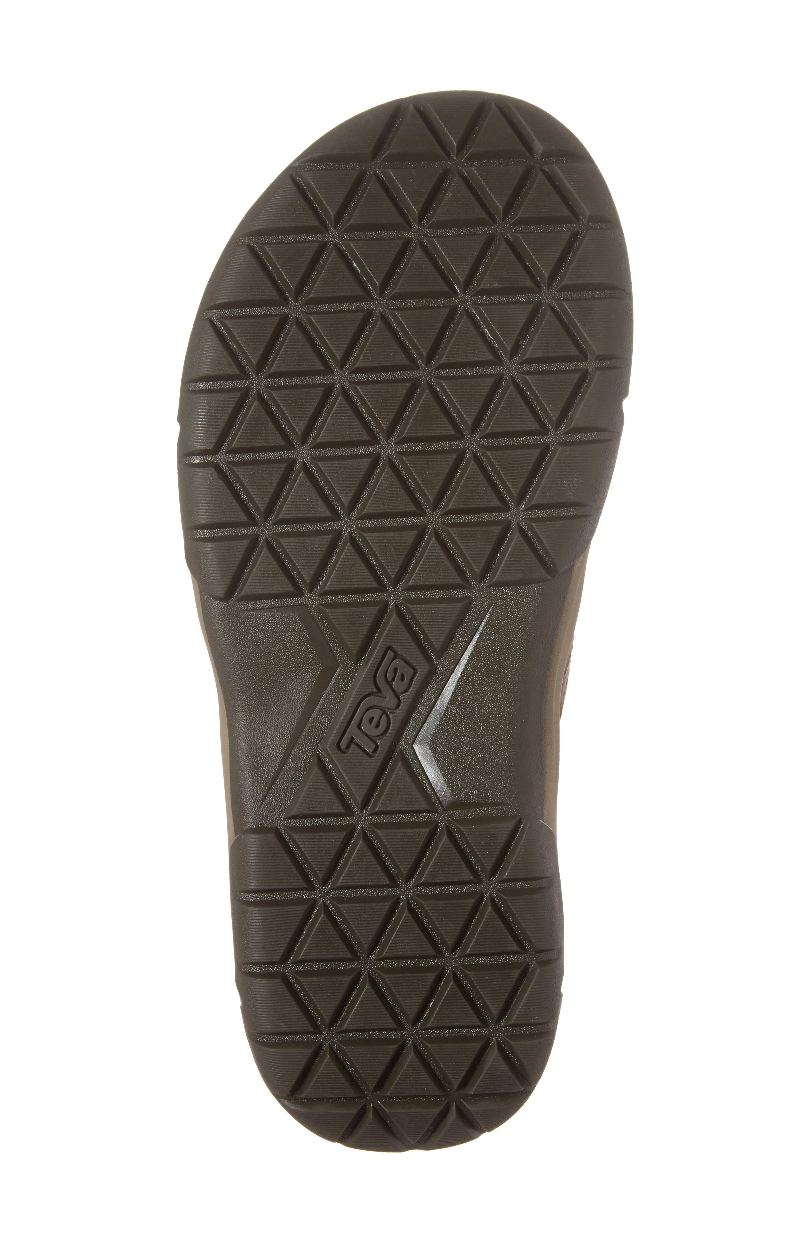 TEVA, Langdon Flip Flop, Alternate thumbnail 6, color, WALNUT