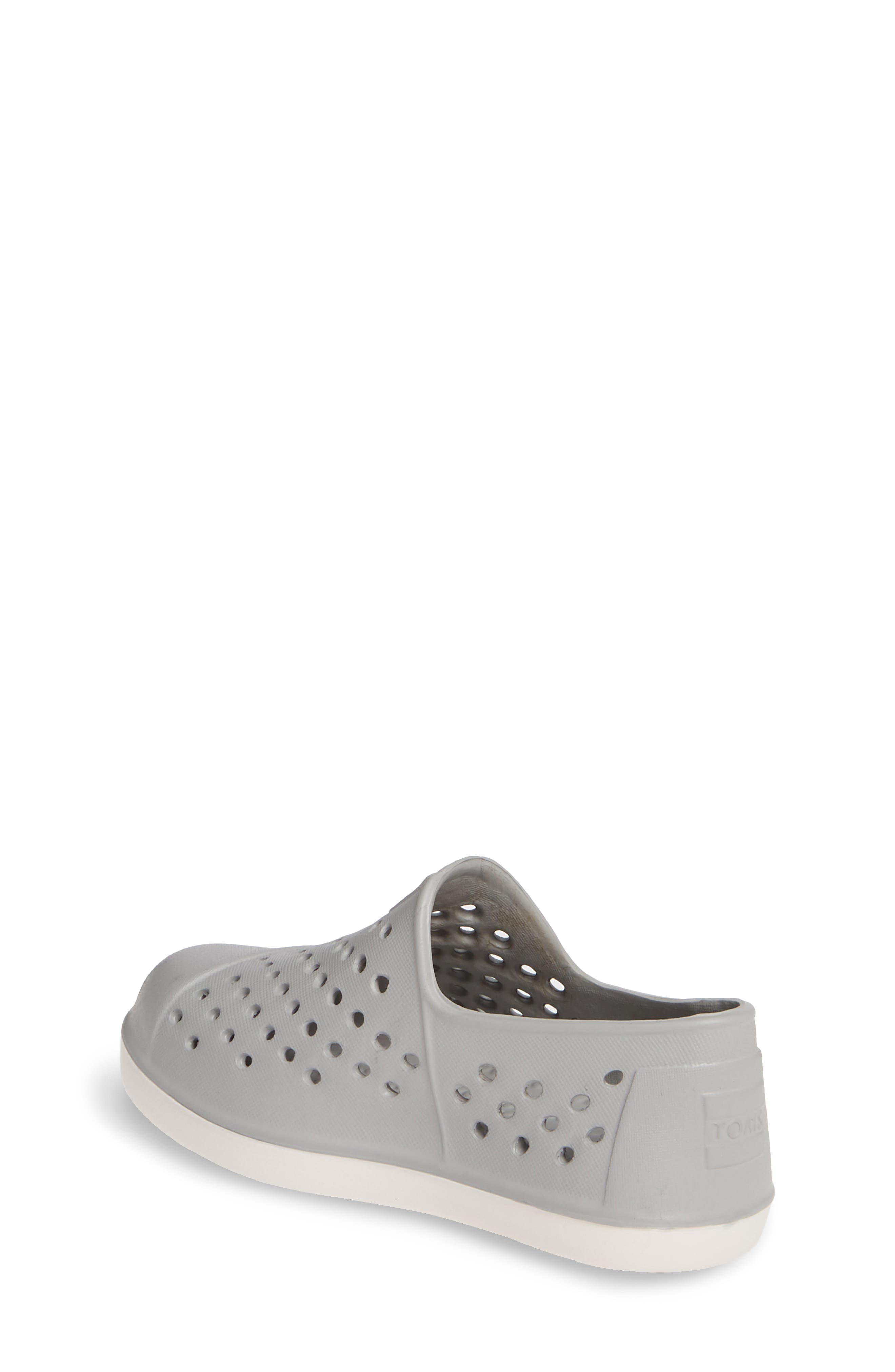 TOMS, 'Romper' Slip-On, Alternate thumbnail 2, color, GREY