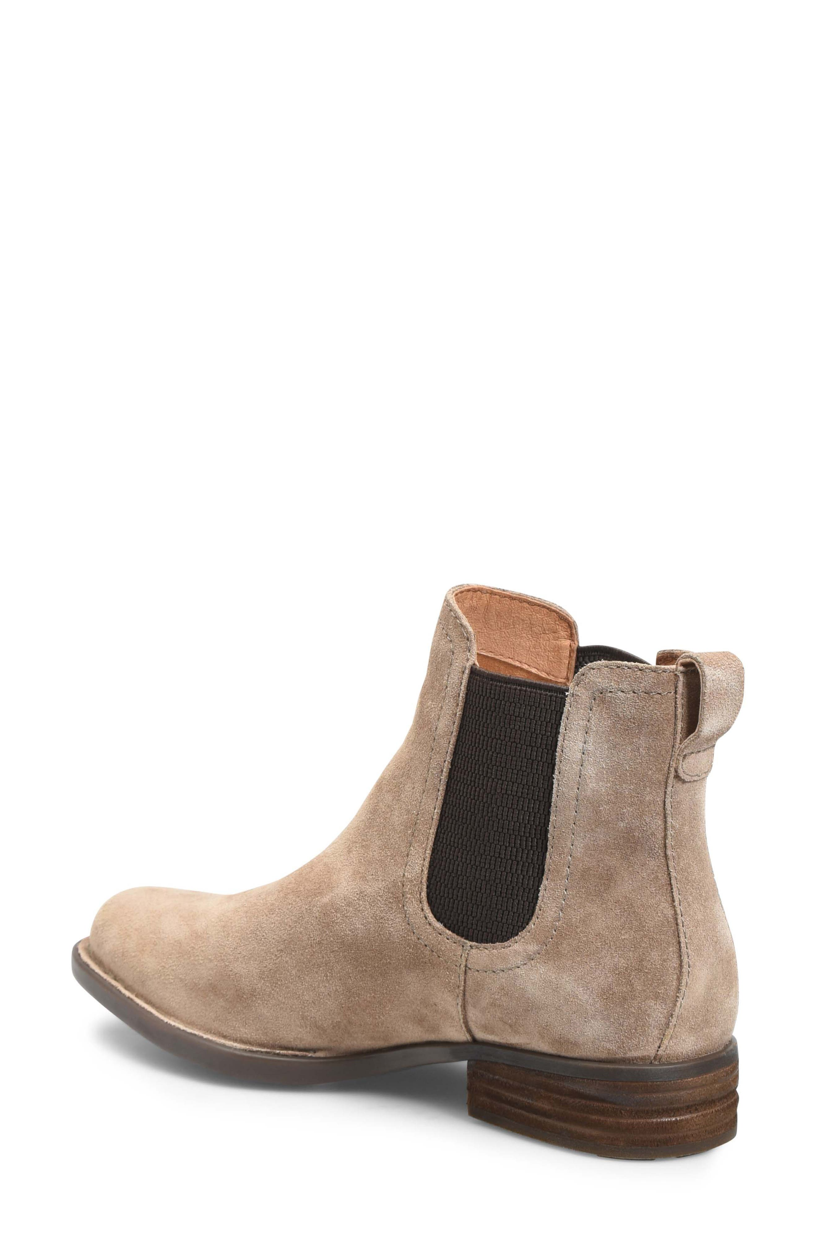BØRN, Casco Chelsea Boot, Alternate thumbnail 2, color, DARK TAUPE SUEDE