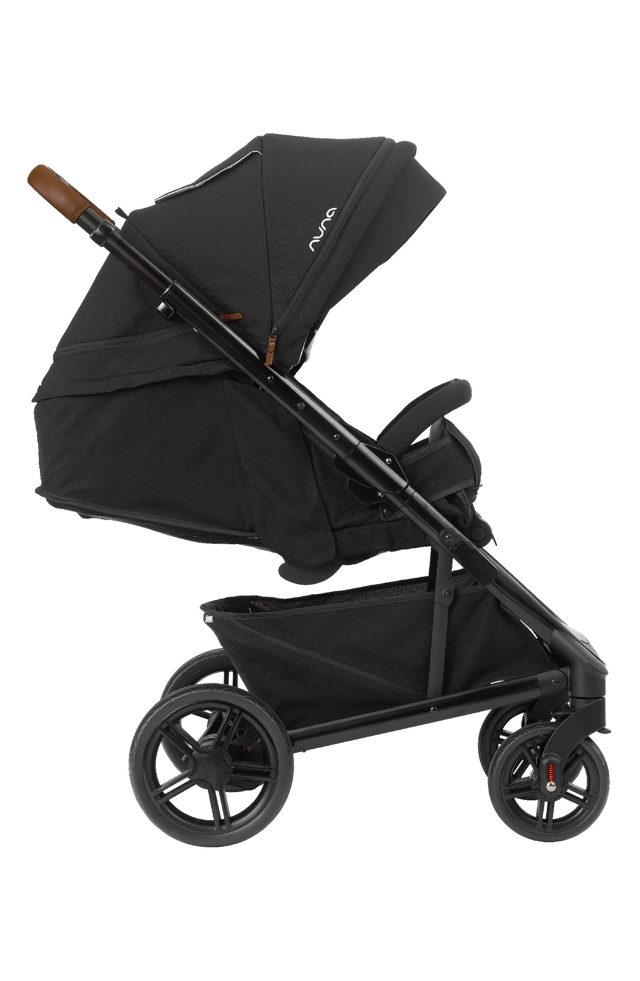 NUNA, 2019 TAVO<sup>™</sup> Stroller & PIPA<sup>™</sup> Lite LX Car Seat Travel System, Alternate thumbnail 3, color, CAVIAR