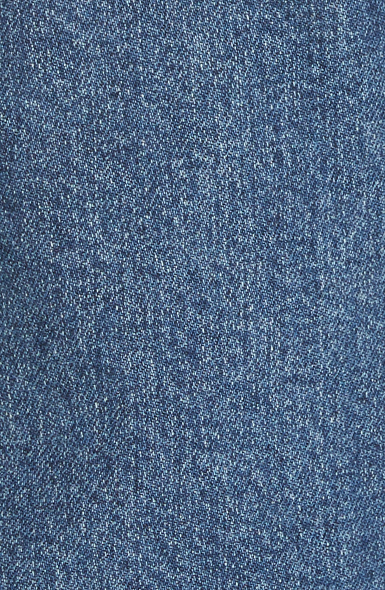 3X1 NYC, Rose Ankle Carpenter Jeans, Alternate thumbnail 6, color, HESTER