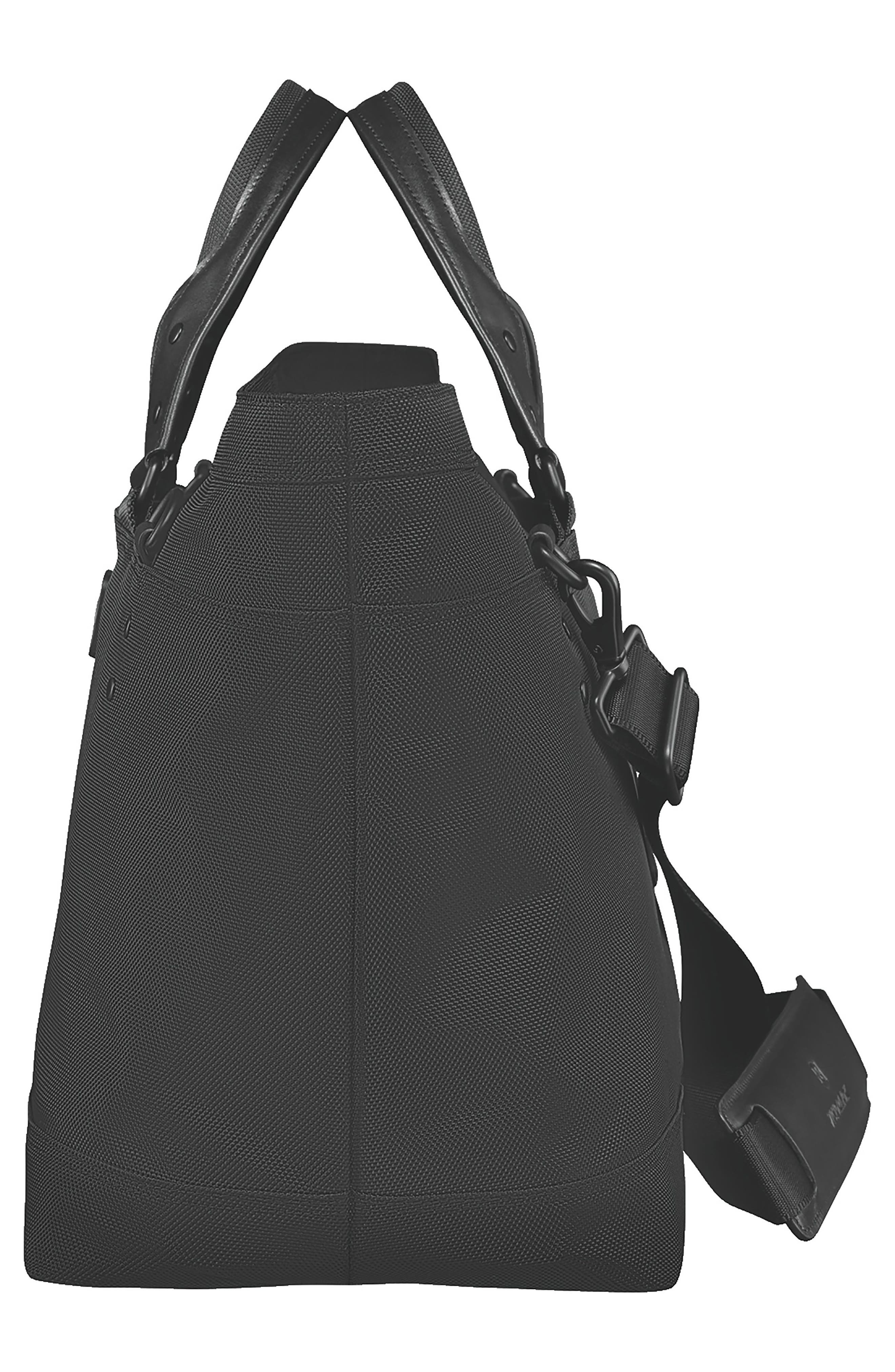 VICTORINOX SWISS ARMY<SUP>®</SUP>, Lexicon 2.0 Deluxe Tote Bag, Alternate thumbnail 3, color, BLACK