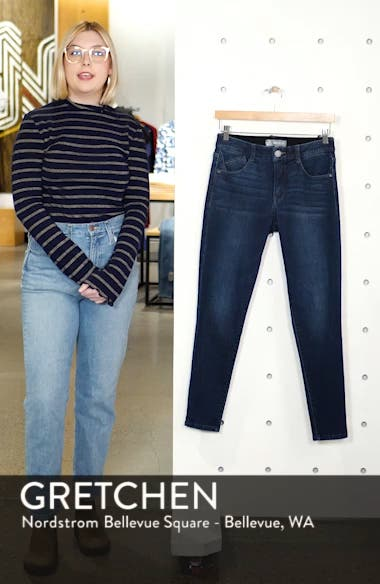 Ab-Solution High Rise Ankle Skinny Jeans, sales video thumbnail