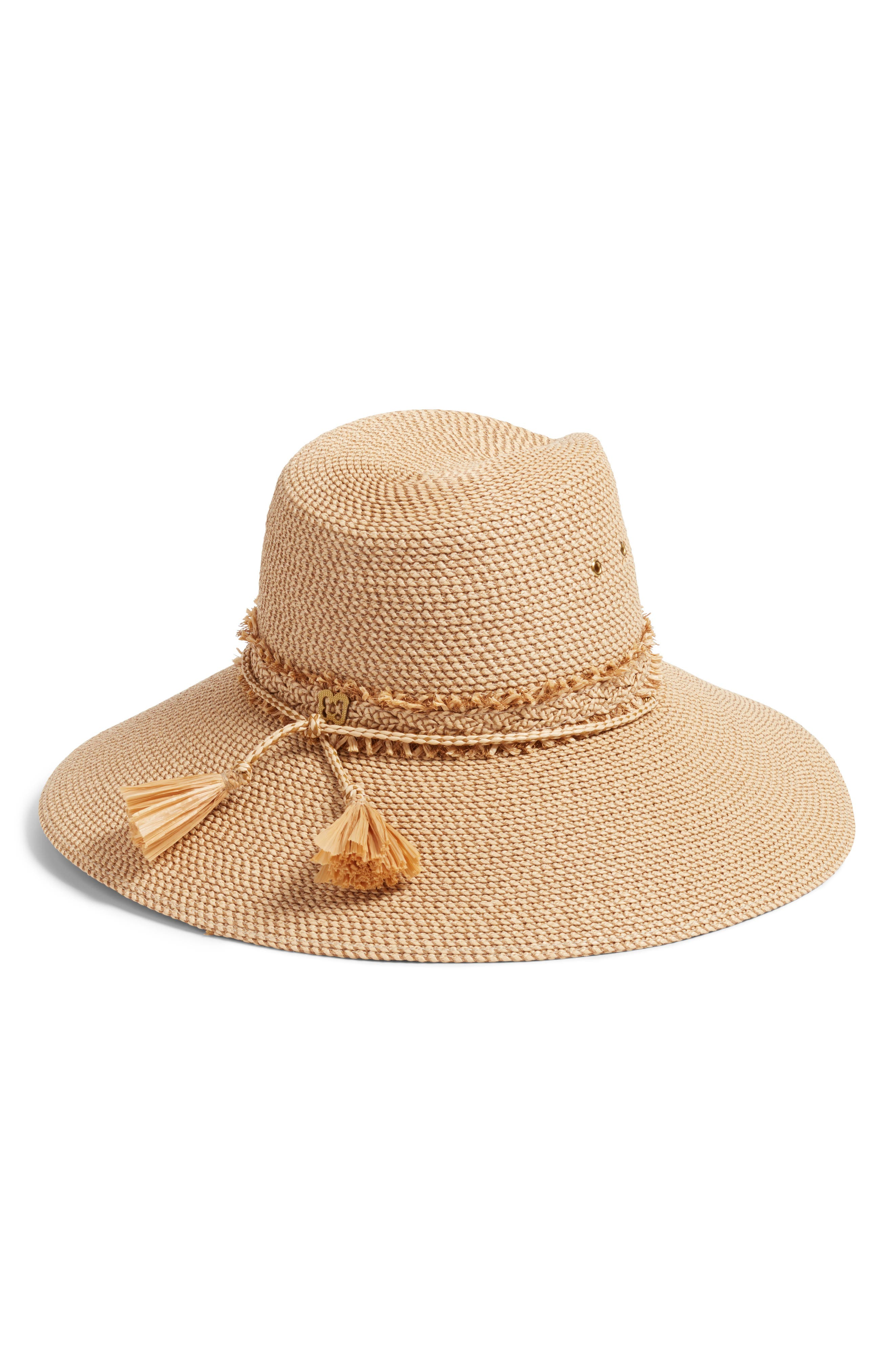 ERIC JAVITS, Voyager Squishee<sup>®</sup> Sun Hat, Alternate thumbnail 2, color, PEANUT