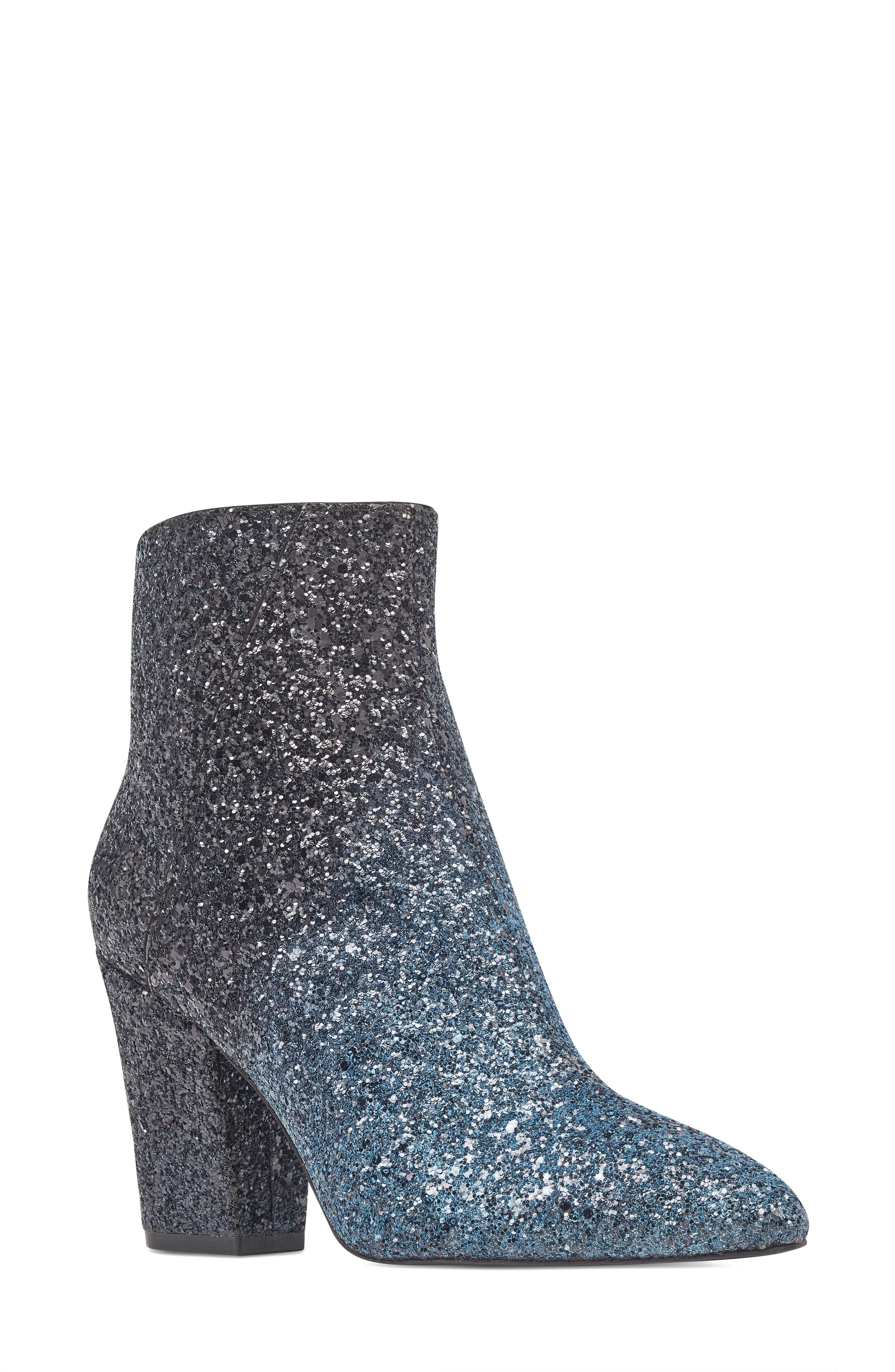 NINE WEST, Savitra Pointy Toe Bootie, Main thumbnail 1, color, 040