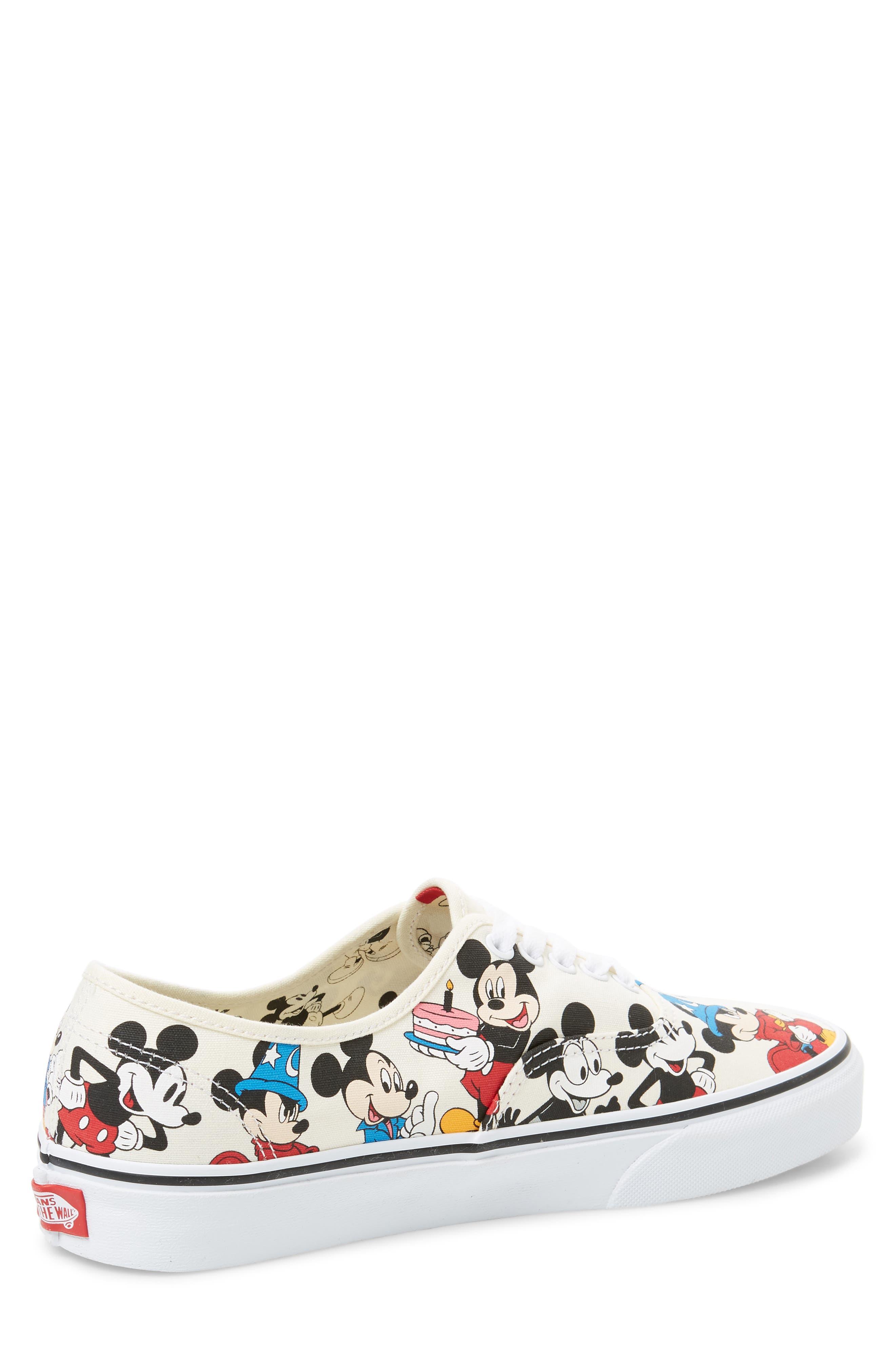 VANS, x Disney Authentic Low Top Sneaker, Alternate thumbnail 2, color, 250