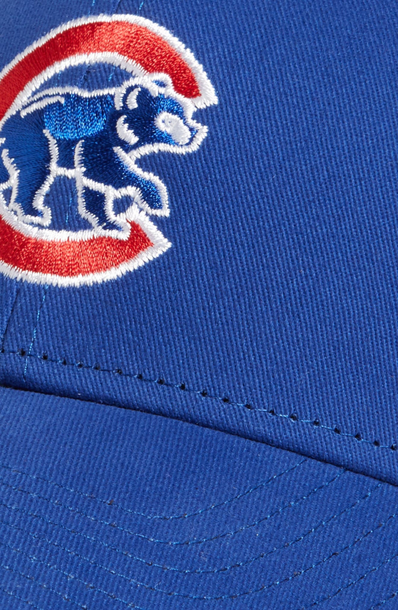 '47, Chicago Cubs Baseball Cap, Alternate thumbnail 3, color, ROYAL
