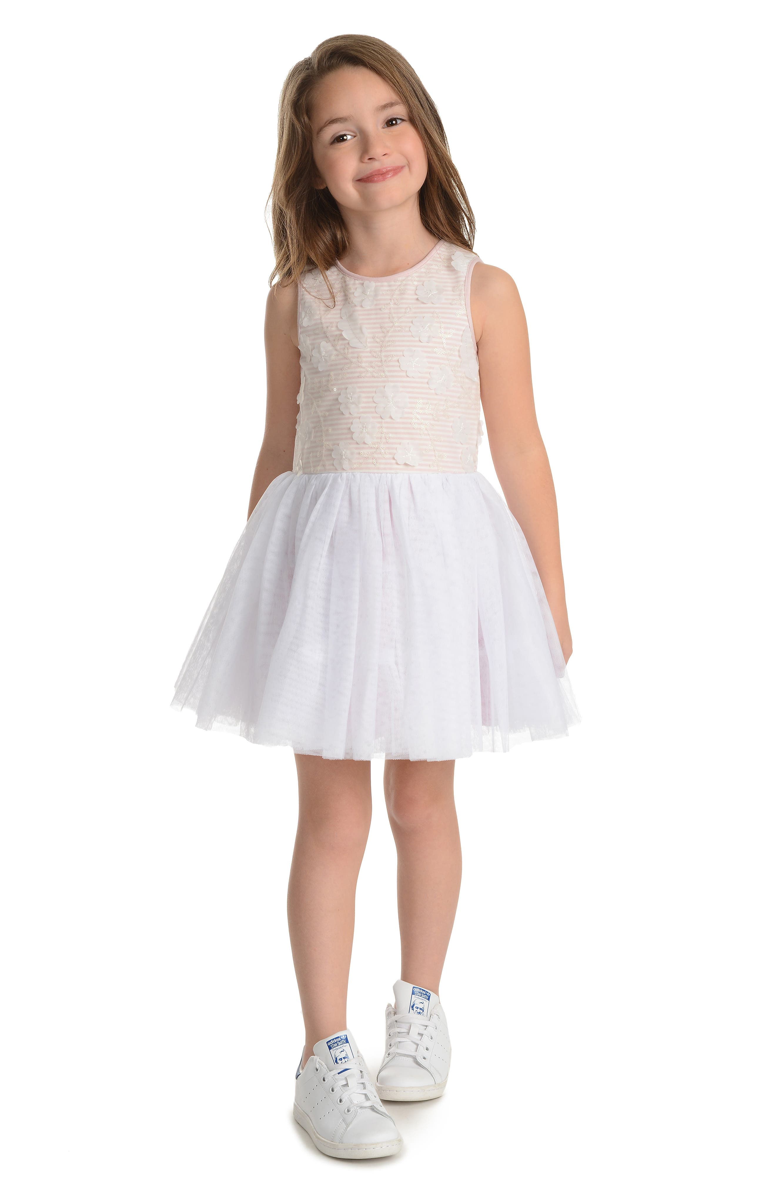 PASTOURELLE BY PIPPA & JULIE, Embellished Bodice Dress, Alternate thumbnail 2, color, 654