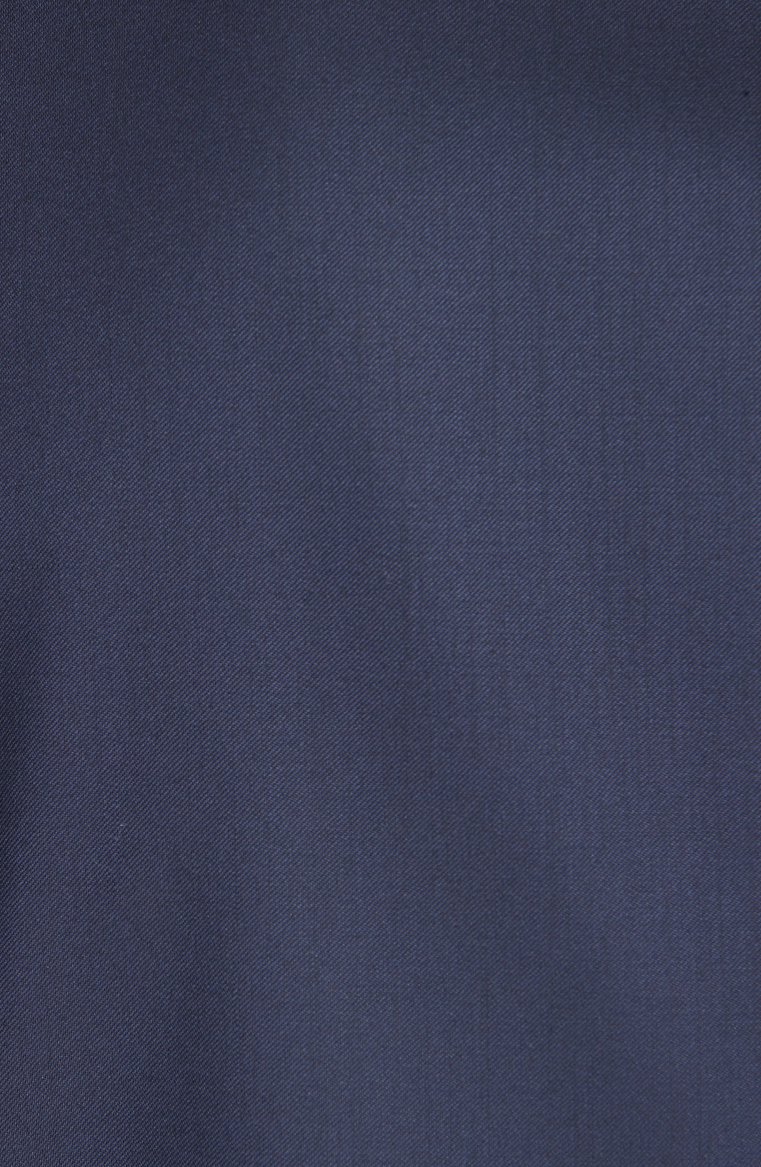 CANALI, Classic Fit Wool Tuxedo, Alternate thumbnail 7, color, NAVY