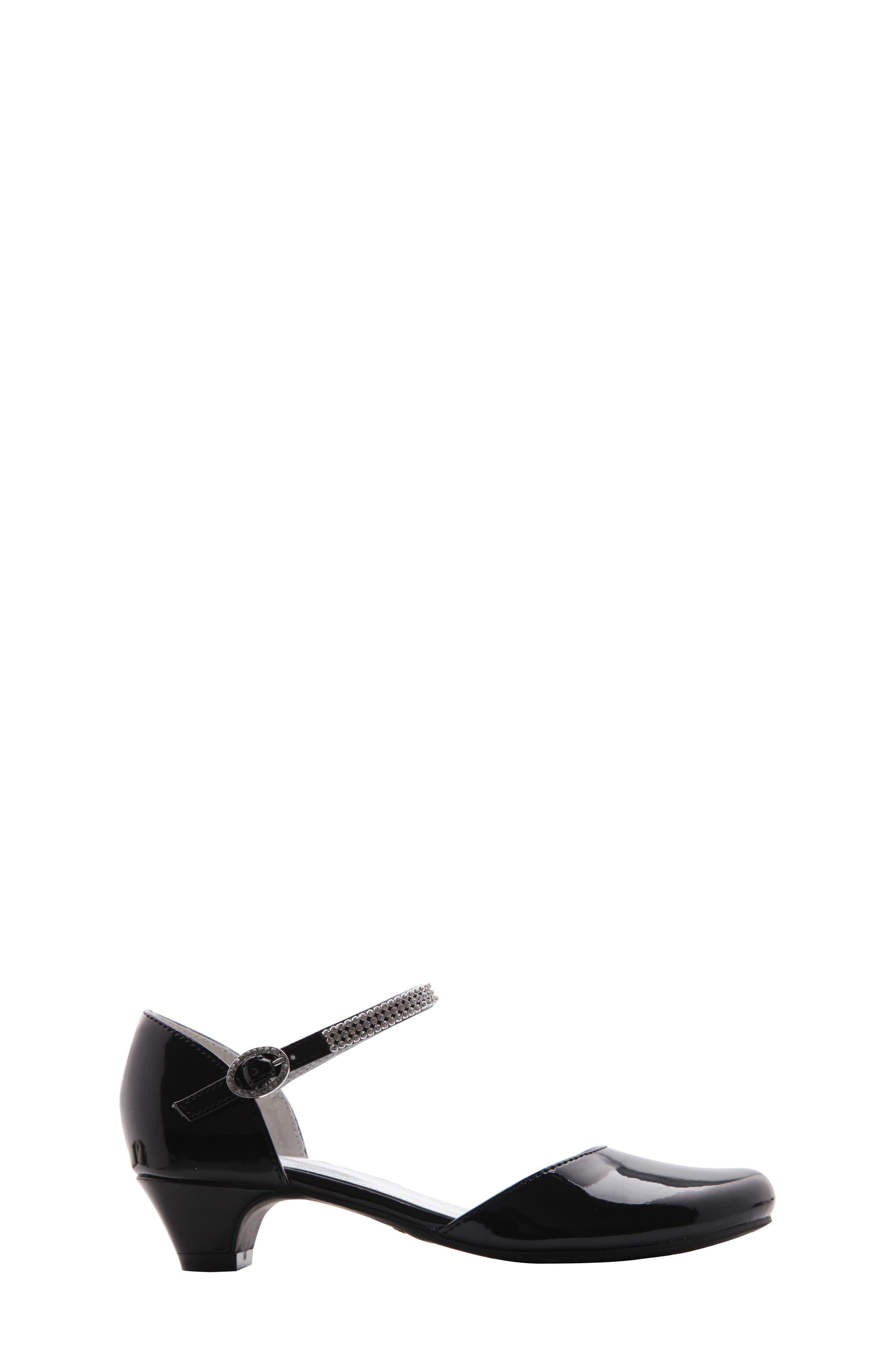 NINA, Cera Low Embellished Pump, Alternate thumbnail 3, color, 002