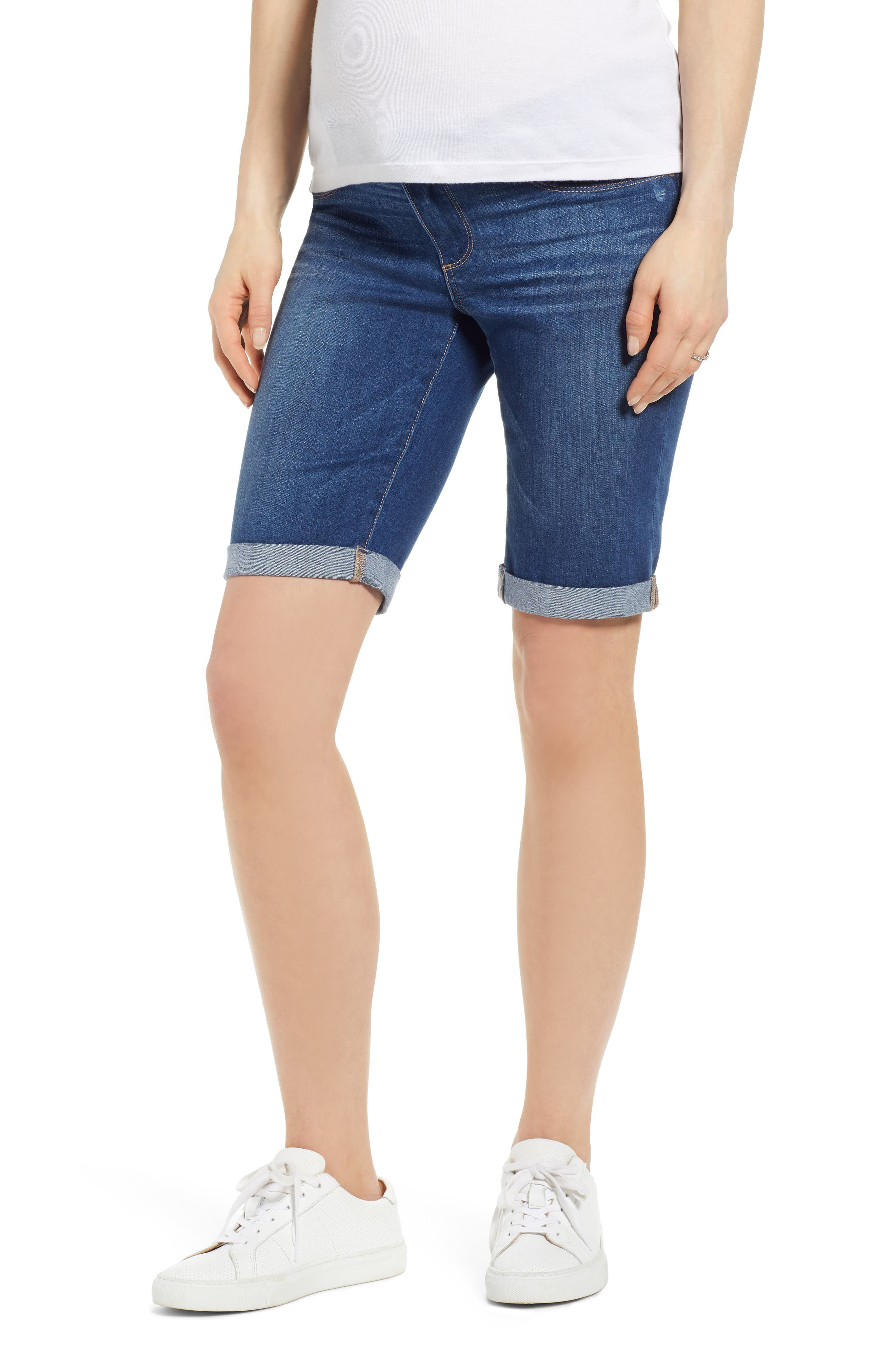 Women's Paige Transcend Vintage - Jax Denim Maternity Shorts