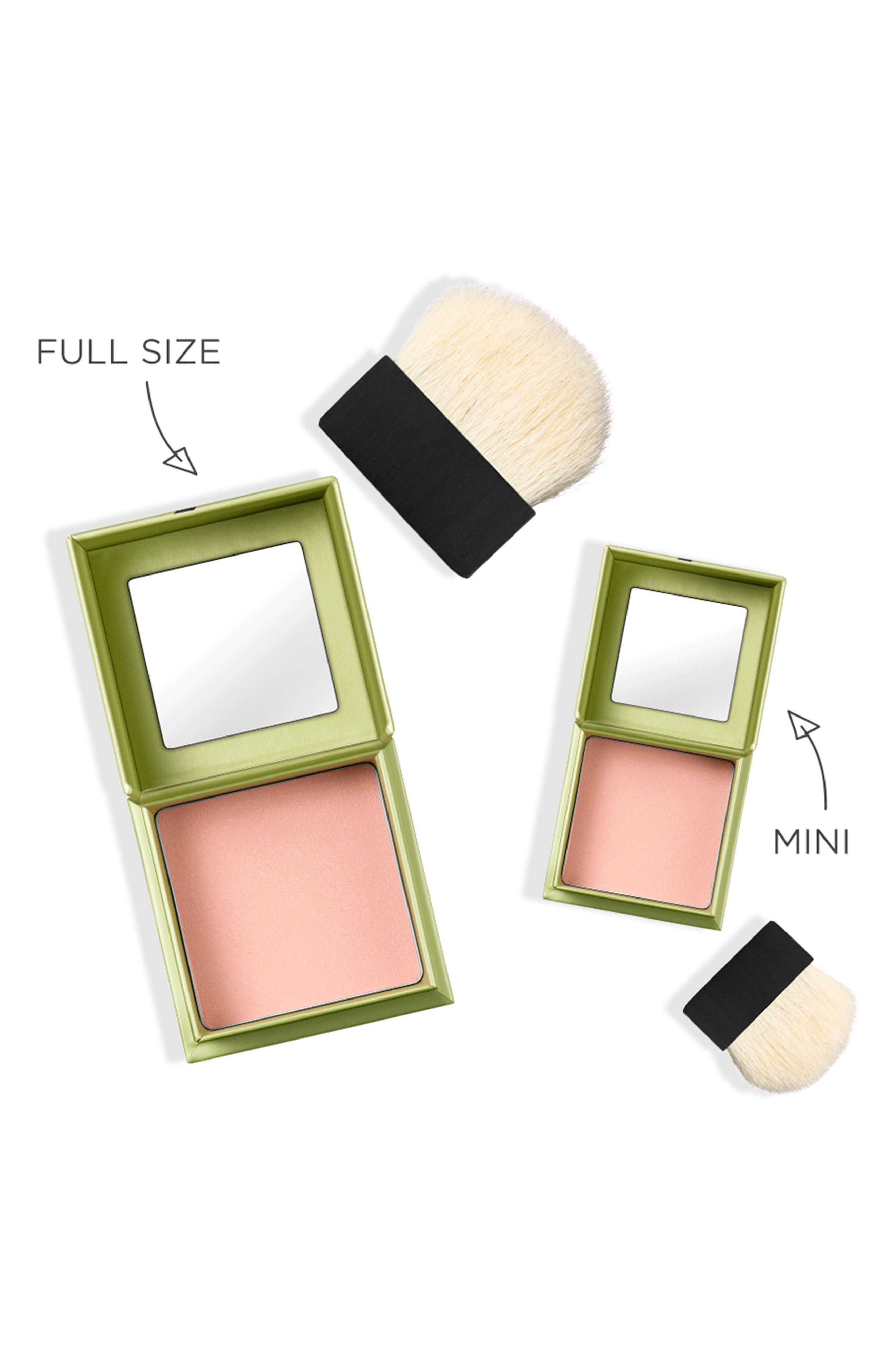 BENEFIT COSMETICS, Benefit Dandelion Brightening Powder Blush, Alternate thumbnail 4, color, BABY PINK