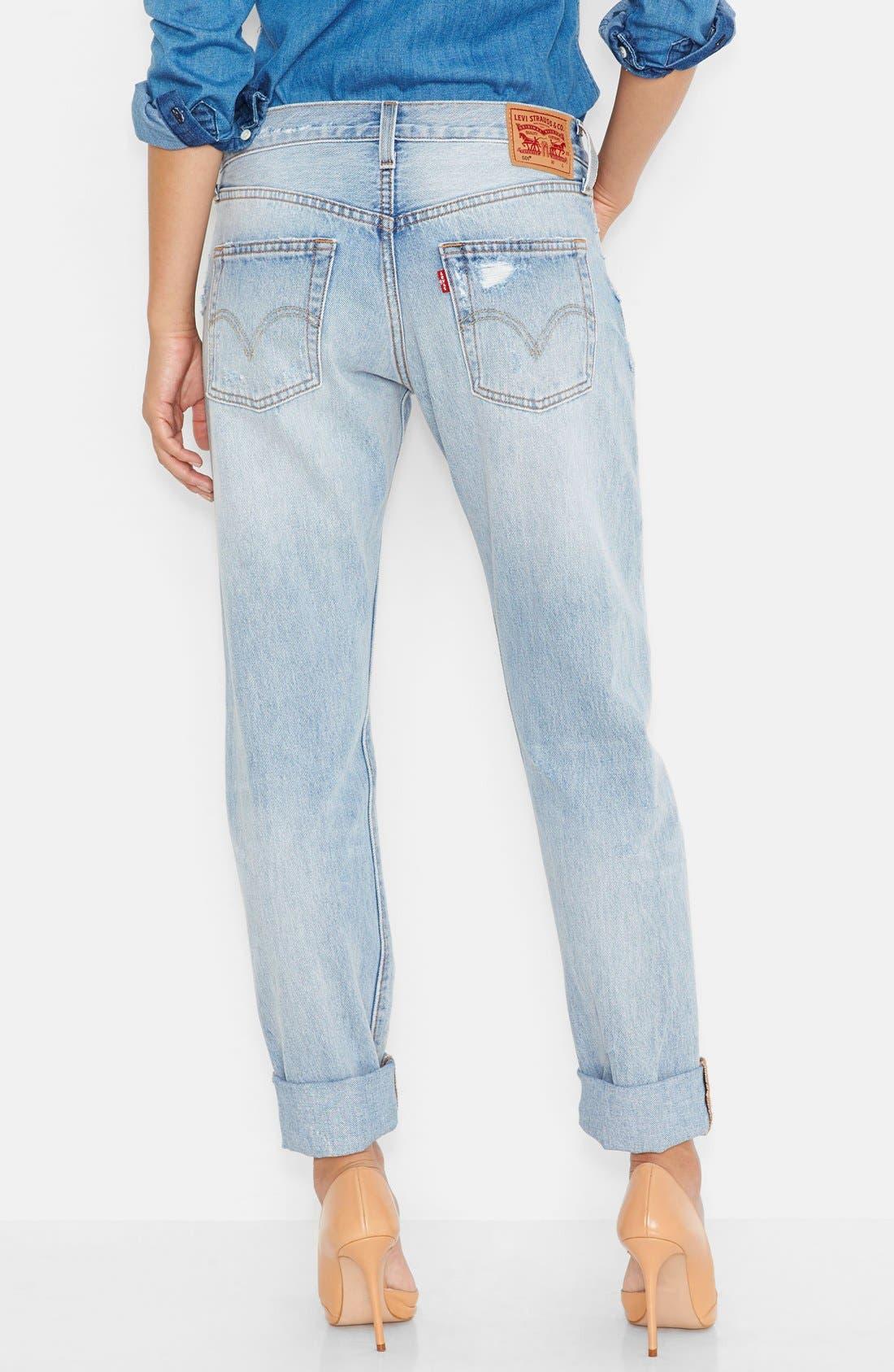 LEVI'S<SUP>®</SUP>, '501<sup>®</sup>' Jeans, Alternate thumbnail 3, color, 400