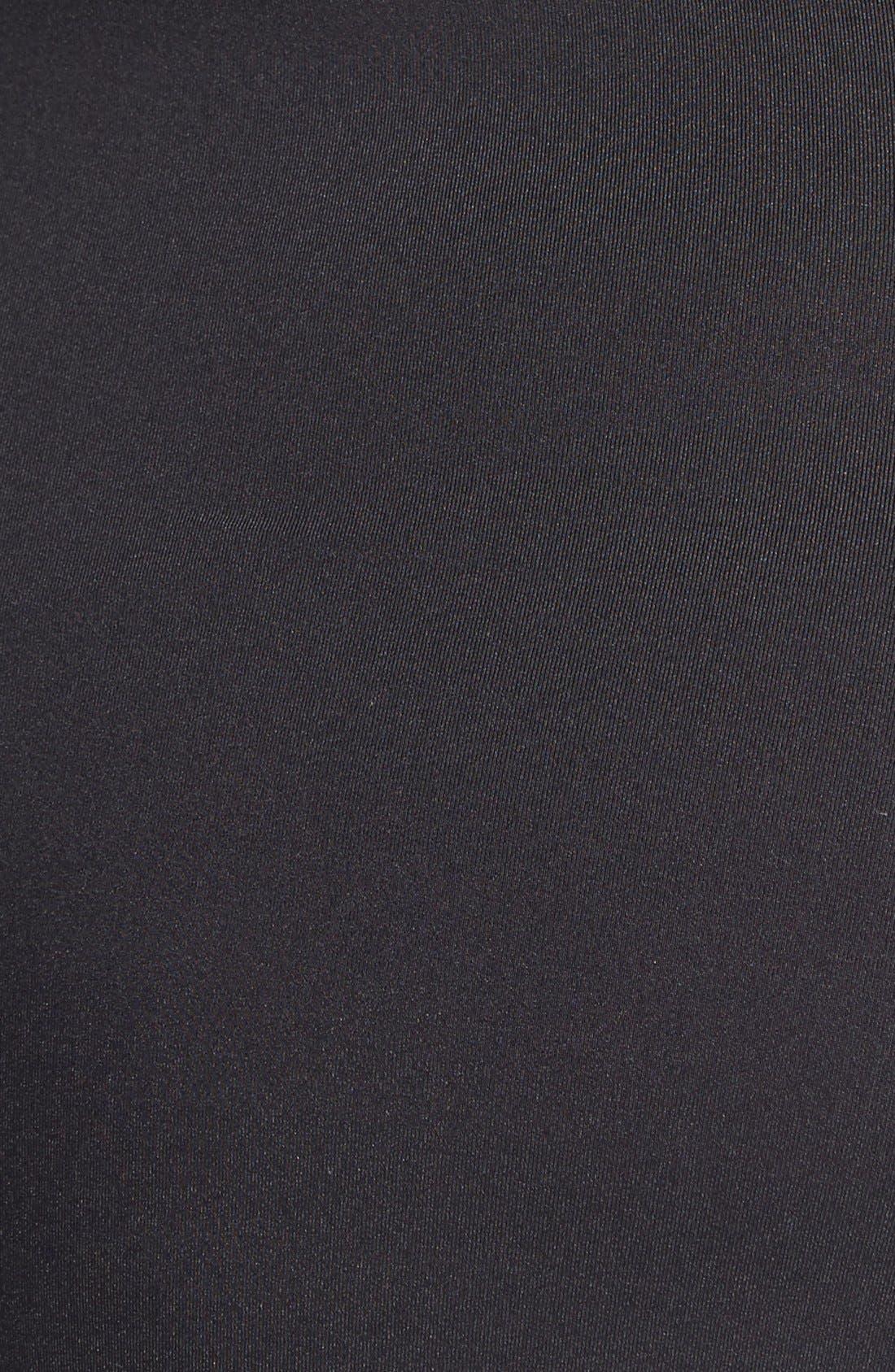 LA BLANCA, 'Core' Ruched One-Piece Swimsuit, Alternate thumbnail 2, color, 001
