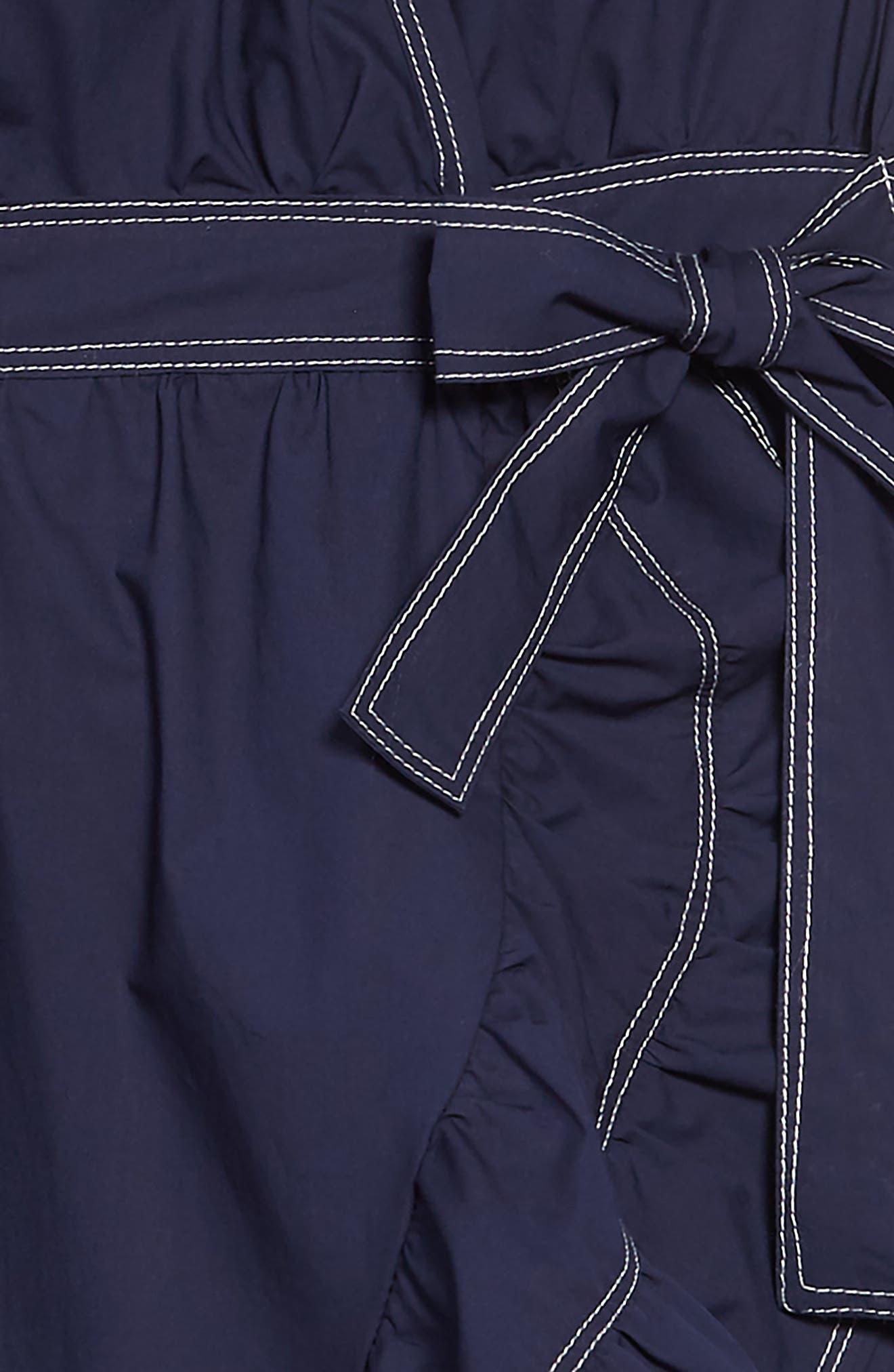HABITUAL, Vanessa Wrap Dress, Alternate thumbnail 3, color, 410