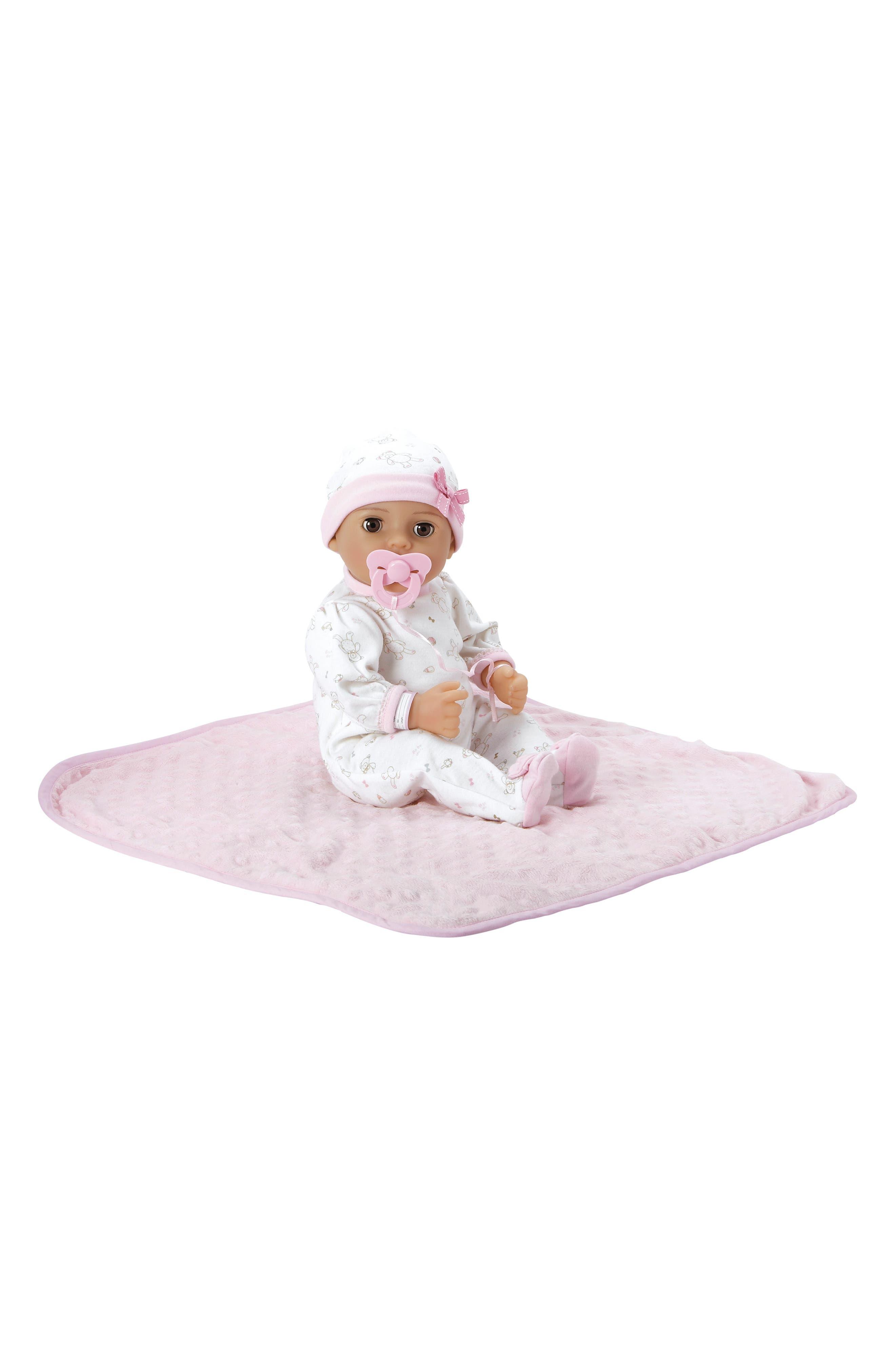 ADORA, Precious Baby Doll with Adoption Certificate, Alternate thumbnail 3, color, PRECIOUS