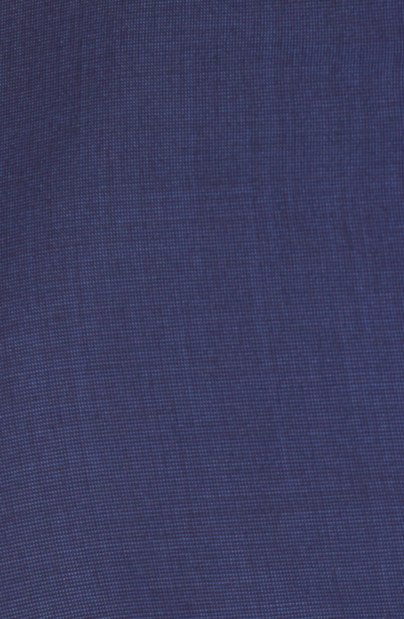 TED BAKER LONDON, Jay Trim Fit Suit, Alternate thumbnail 7, color, BLUE