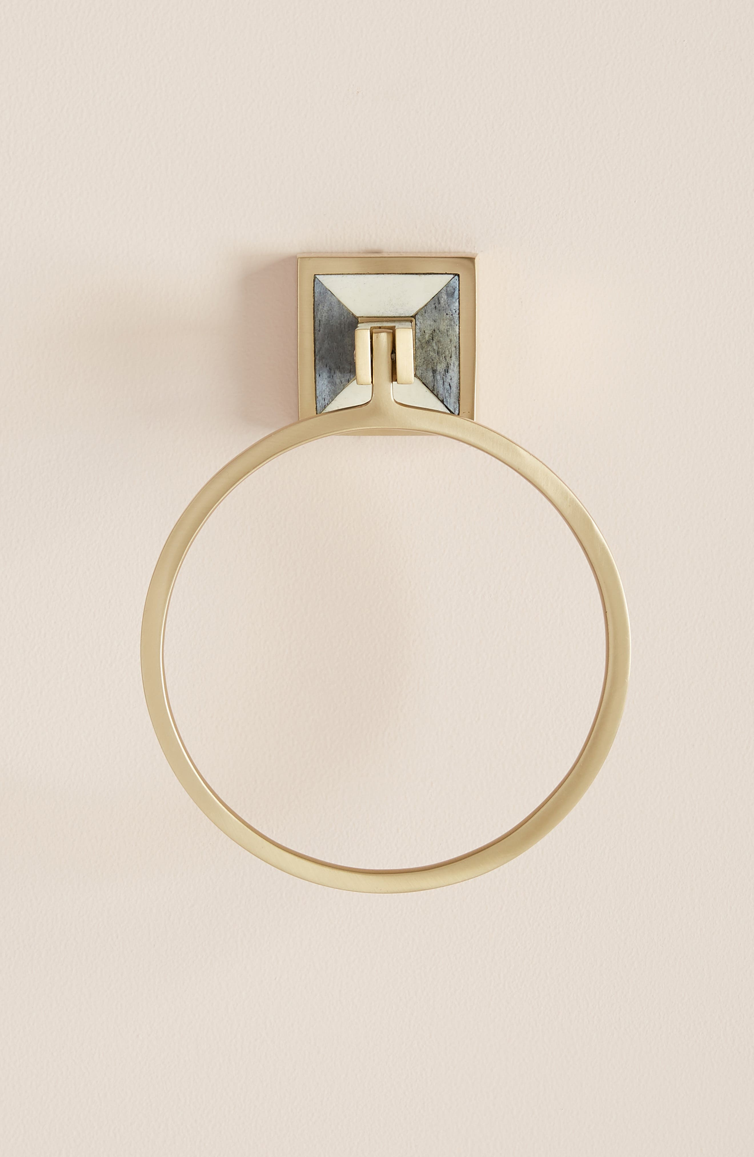 ANTHROPOLOGIE Cayenne Towel Ring, Main, color, 442